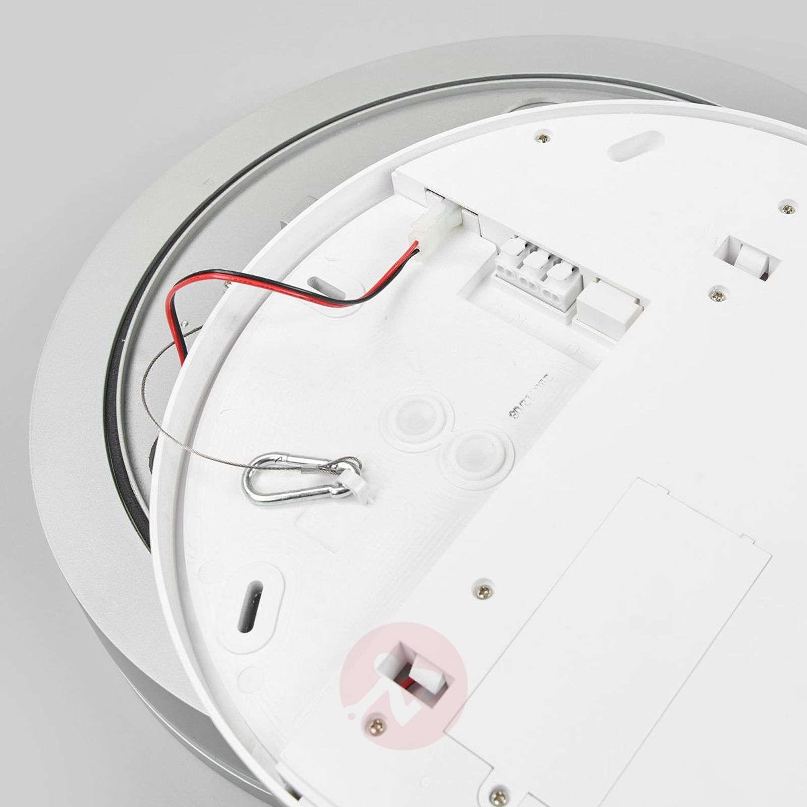 LED-kattovalaisin Rob pyöreä IP44 4000K-9642012-013