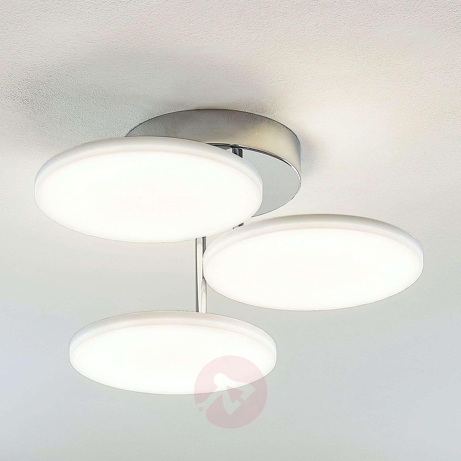 LED-kattovalaisin Sherko, himmennettävä, 3-lamp.-9635007-02