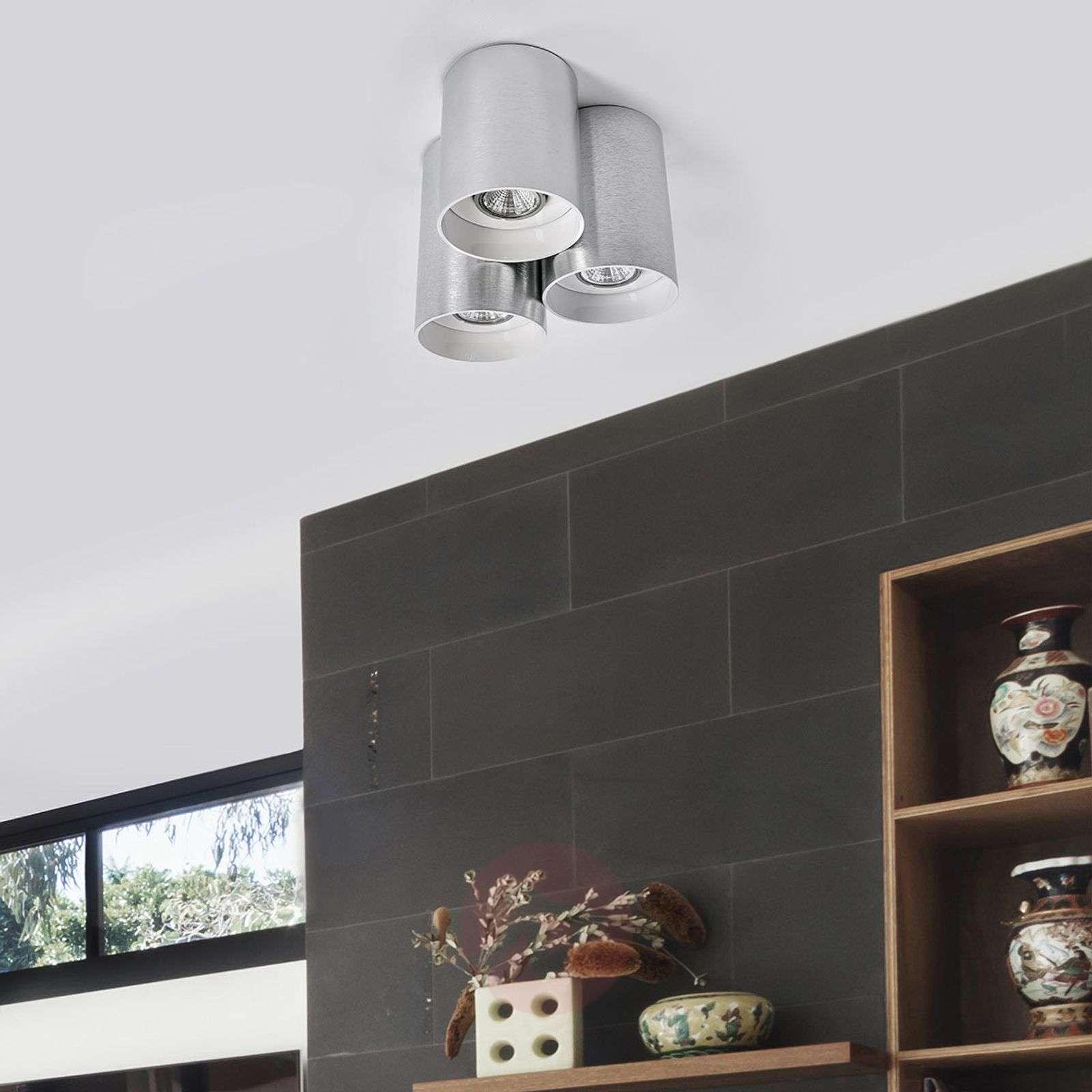LED-kattovalaisin Smaranda, 3-lamppuinen, alumiini-3035017-02