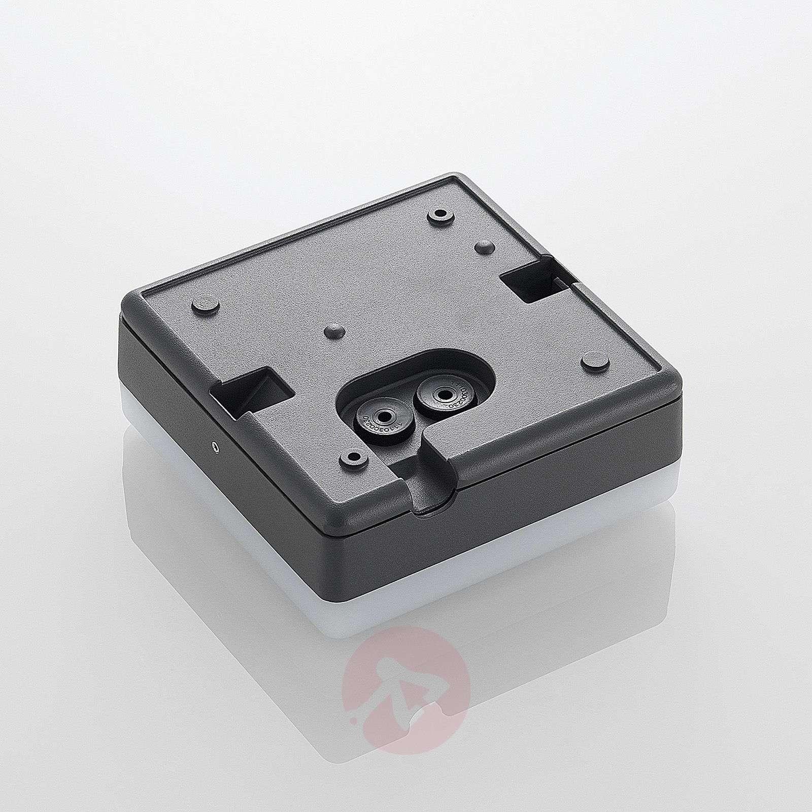 LED-kattovalaisin Thilo, harmaa, 16 cm, sensori TL-9969090-02