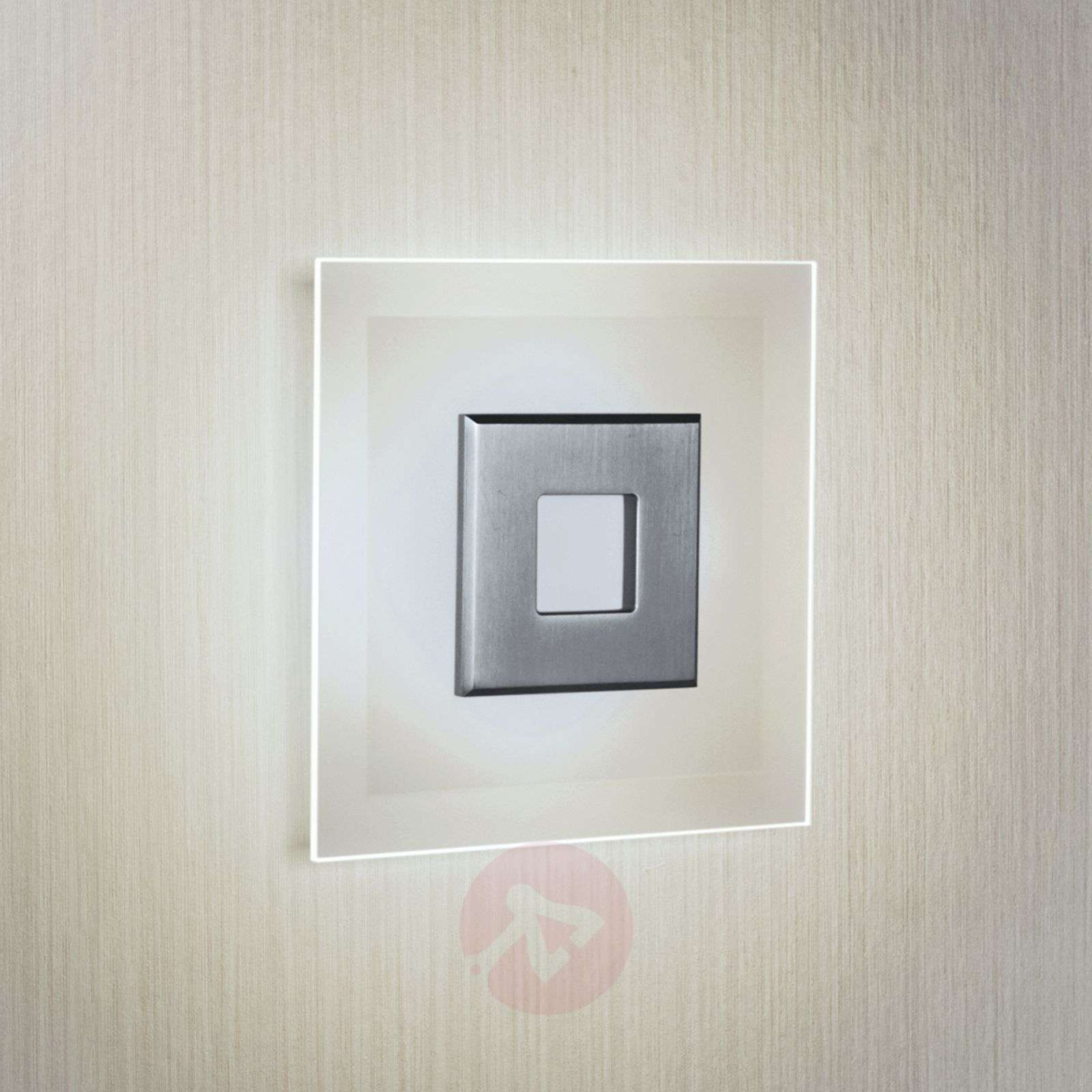 LED-kattovalaisin Tian, lasivarjostin, 25 cm-6722516-01