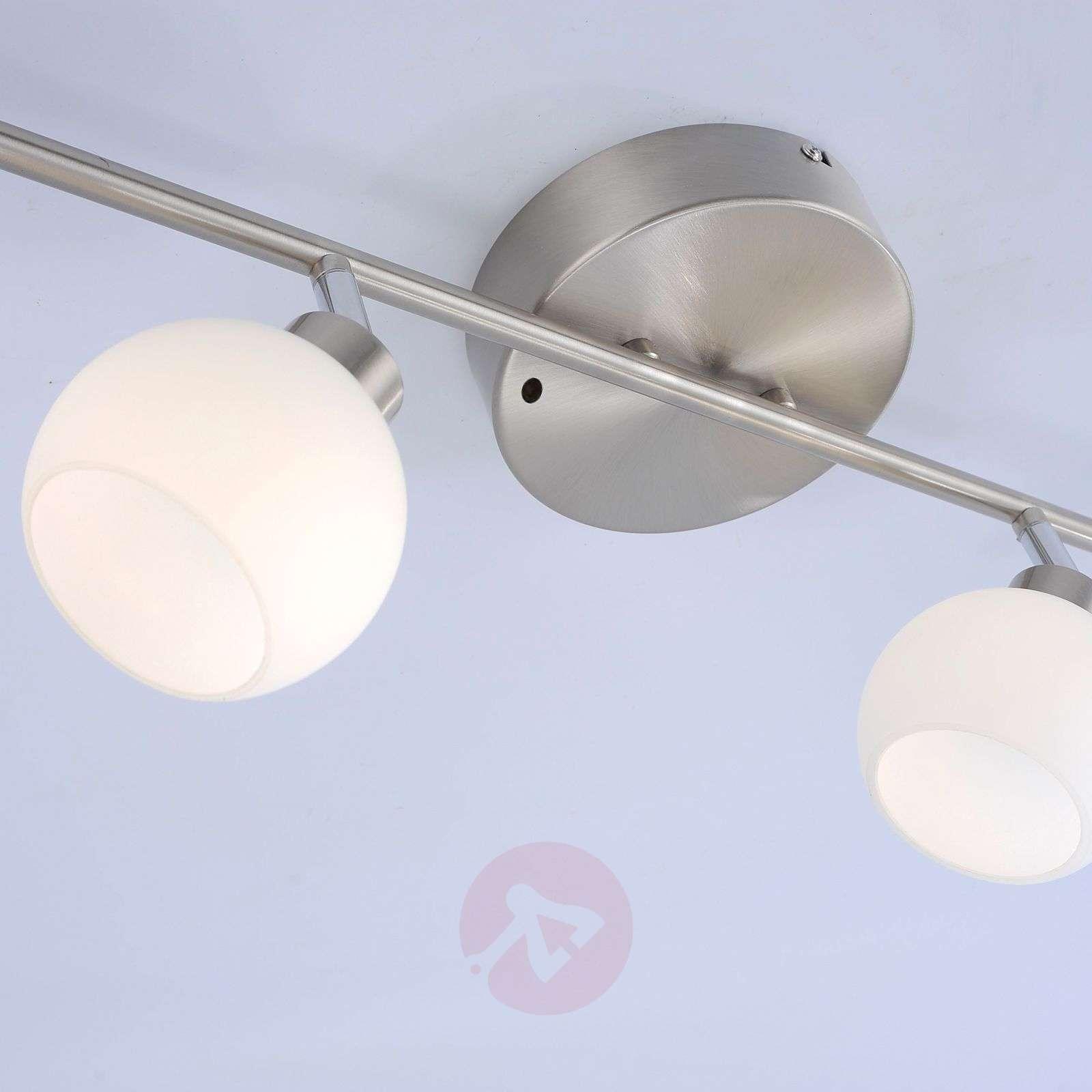 LED-kattovalaisin Yaeka, 6-lamppuinen, kaukosäädin-7620048-02