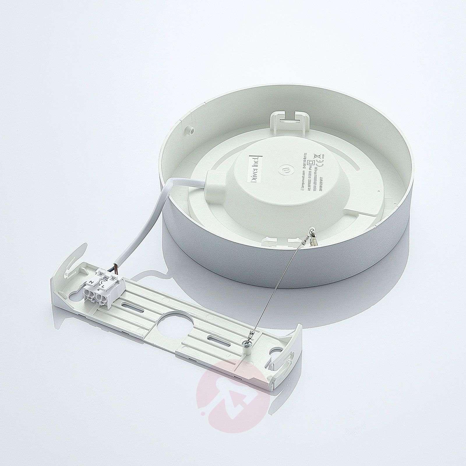 LED-kattovalo Marlo hopea 3000K pyöreä 18,2 cm-9978052-02