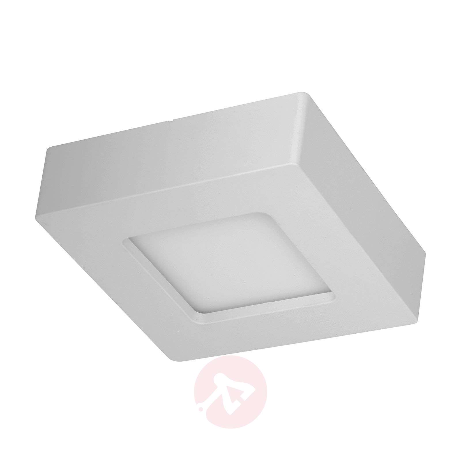 LED-kattovalo Marlo valk. 3000K kulmikas 12,8cm-9978093-02