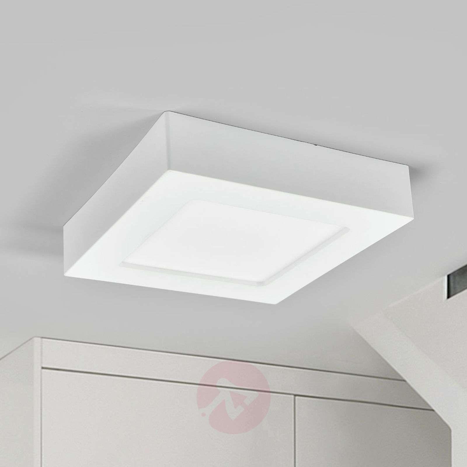 LED-kattovalo Marlo valkoinen 4000K kulmikas 18 cm-9978067-02