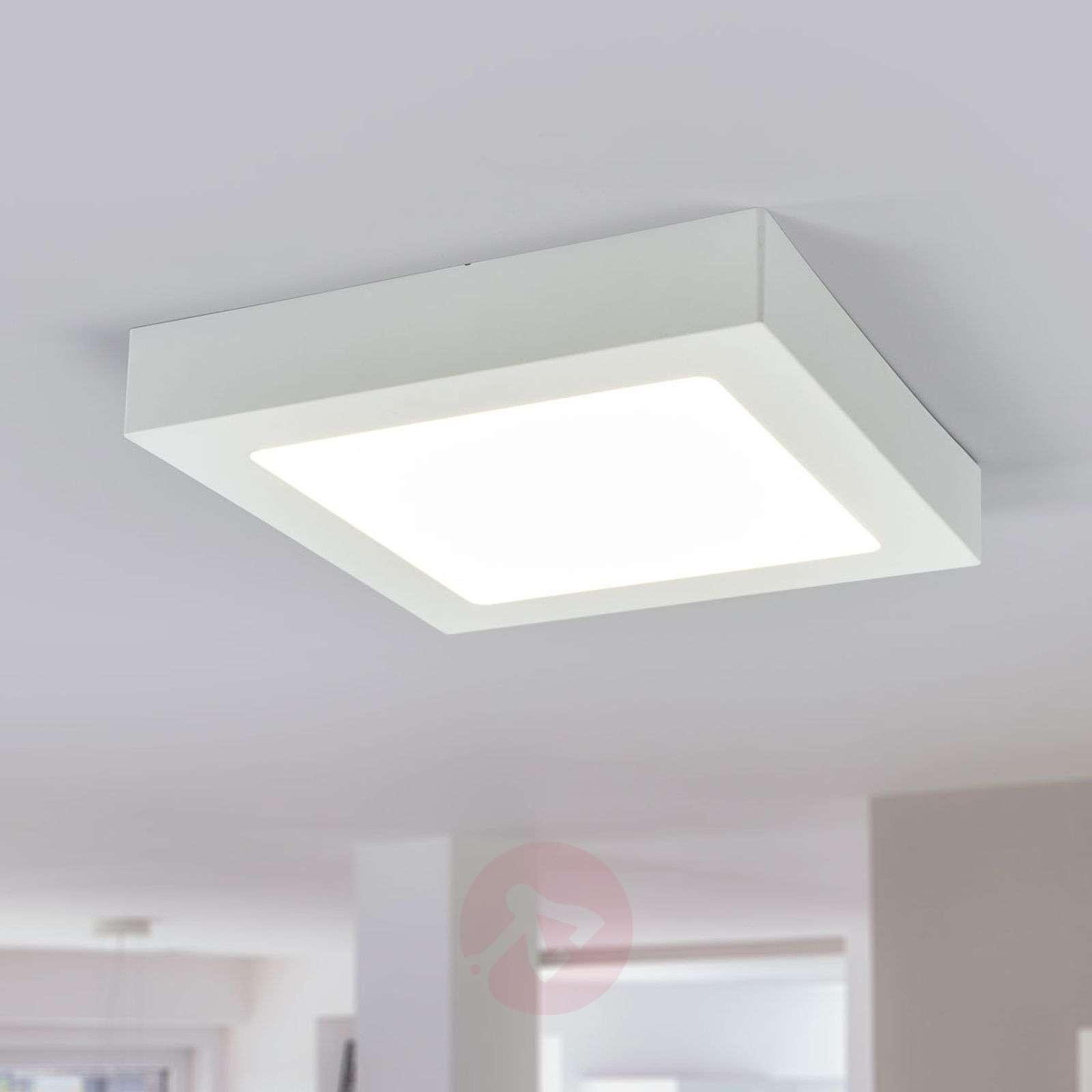 LED-kattovalo Marlo valkoinen 4000K kulmikas 23 cm