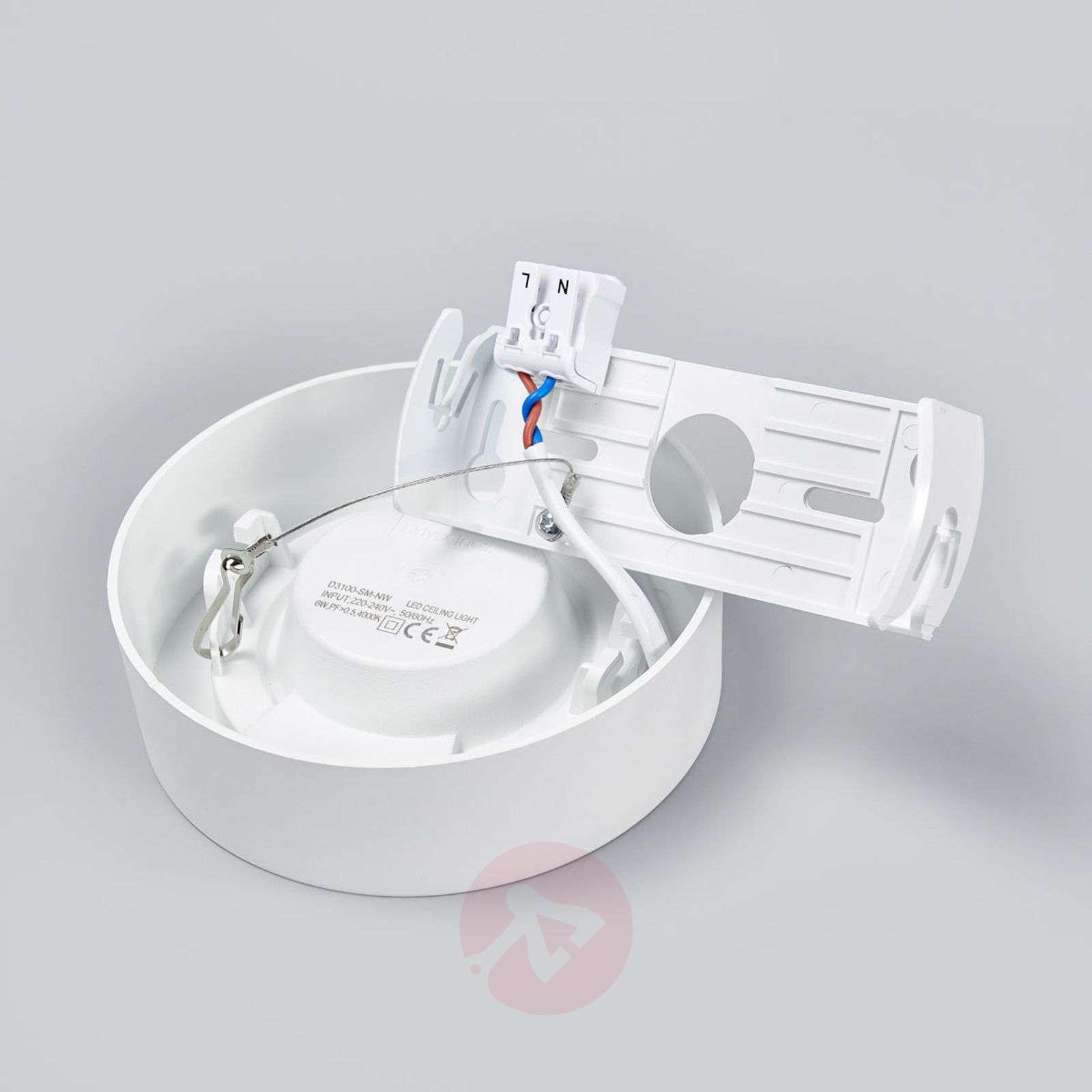 LED-kattovalo Marlo valkoinen 4000K pyöreä 12,8cm-9978063-02