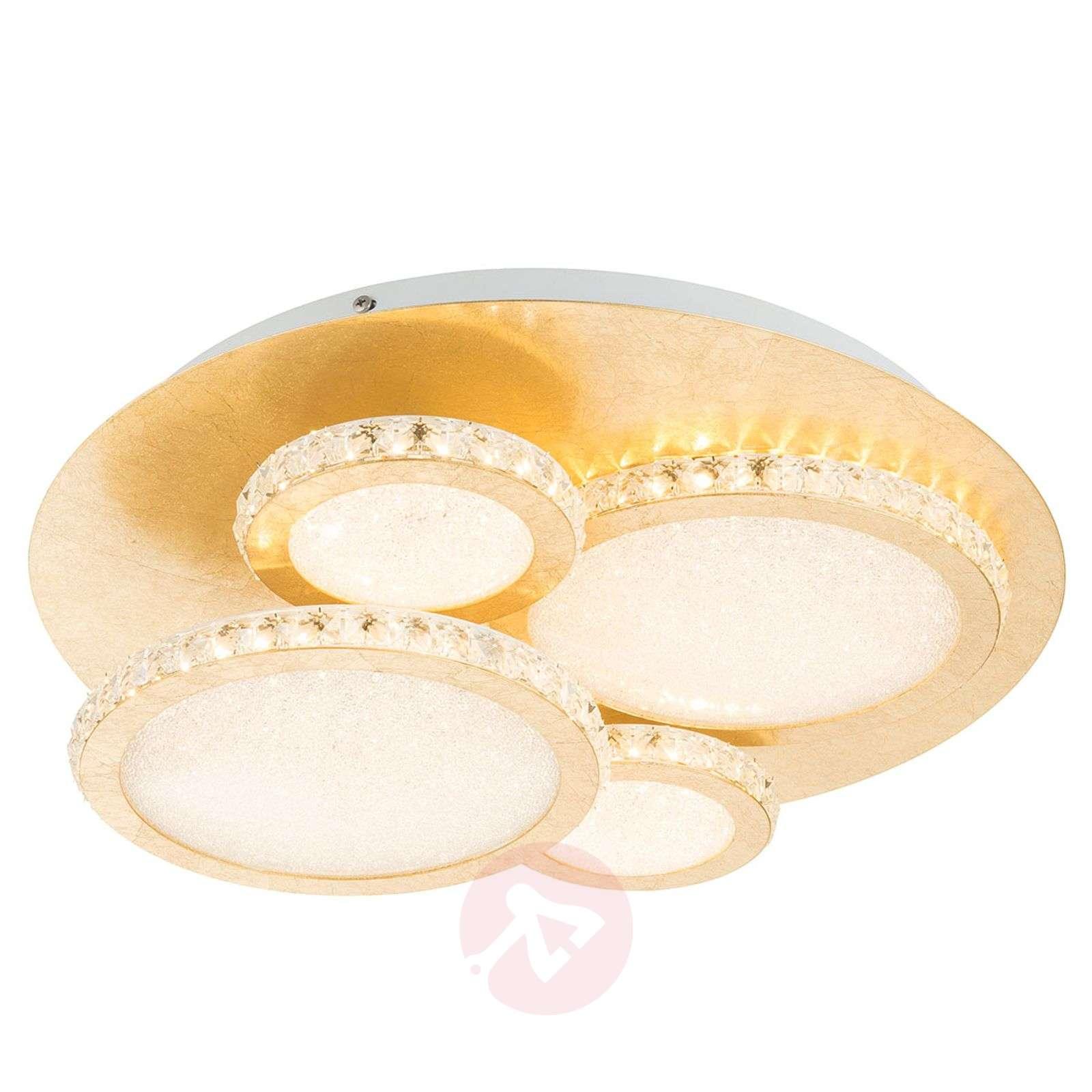 LED-kattovalo Tilo, kulta, himmennin, 3000K 36W-4015152-01