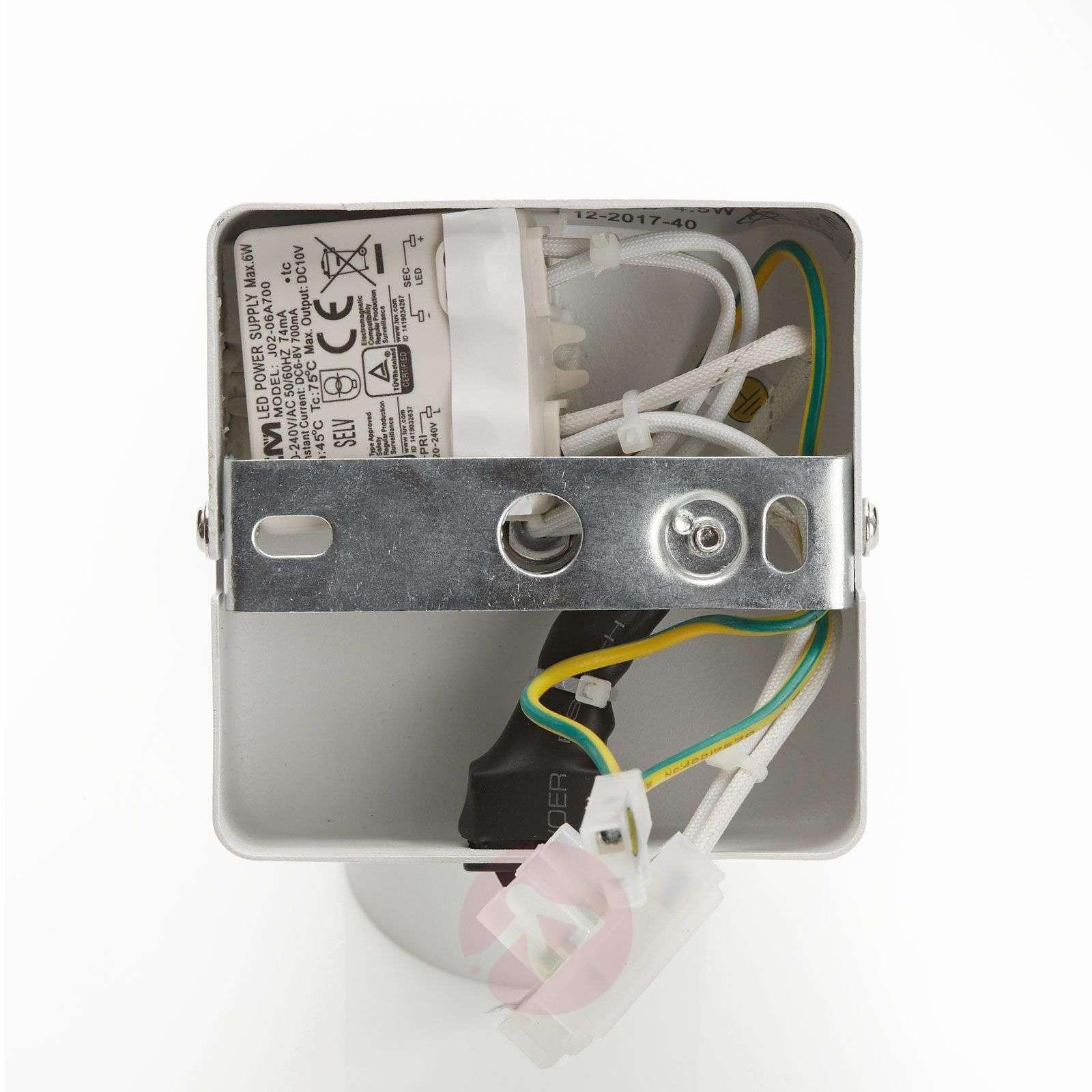 LED-kohdevalaisin Rinik, valkoinen, 1-lamppuinen-8032192-01