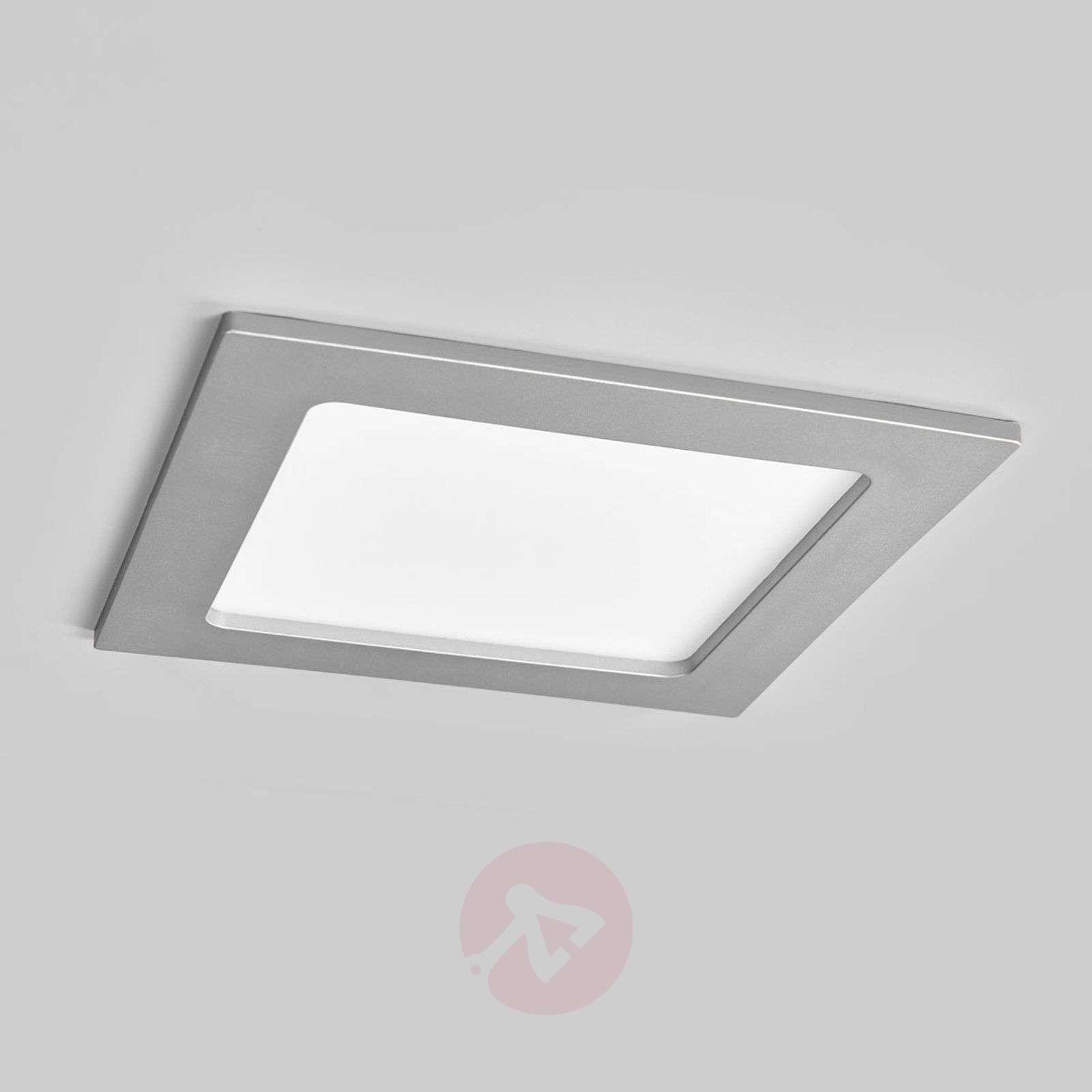 LED-kohdevalo Joki hopea 3000K kulmikas 16,5 cm-9978049-02