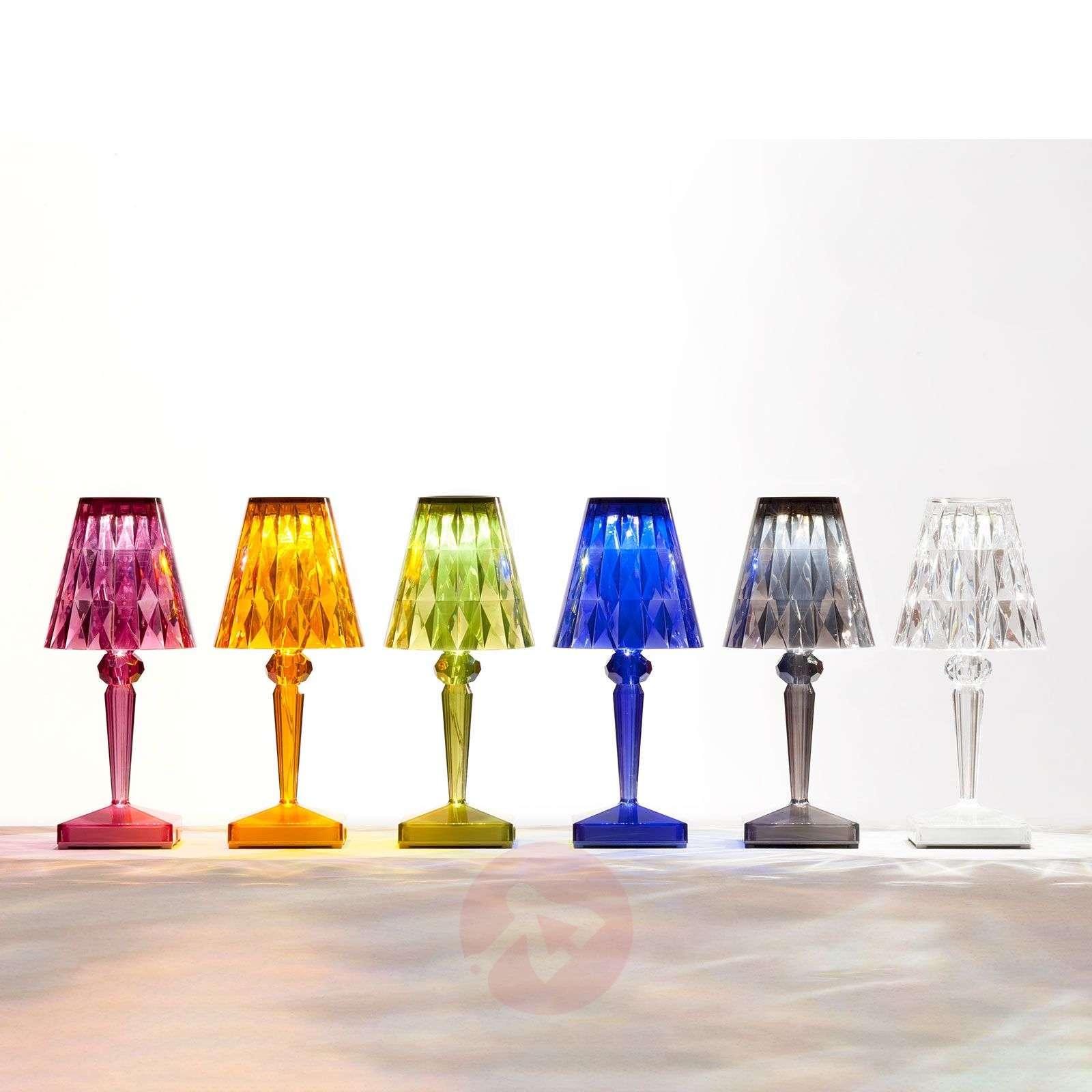 LED-koristepöytälamppu Battery, IP54, savunharmaa-5541036-01
