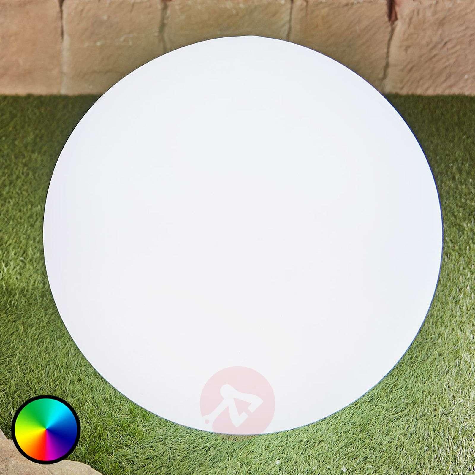 LED-koristeulkovalaisin Tomila, kuula, USB, 60 cm-6729007-01