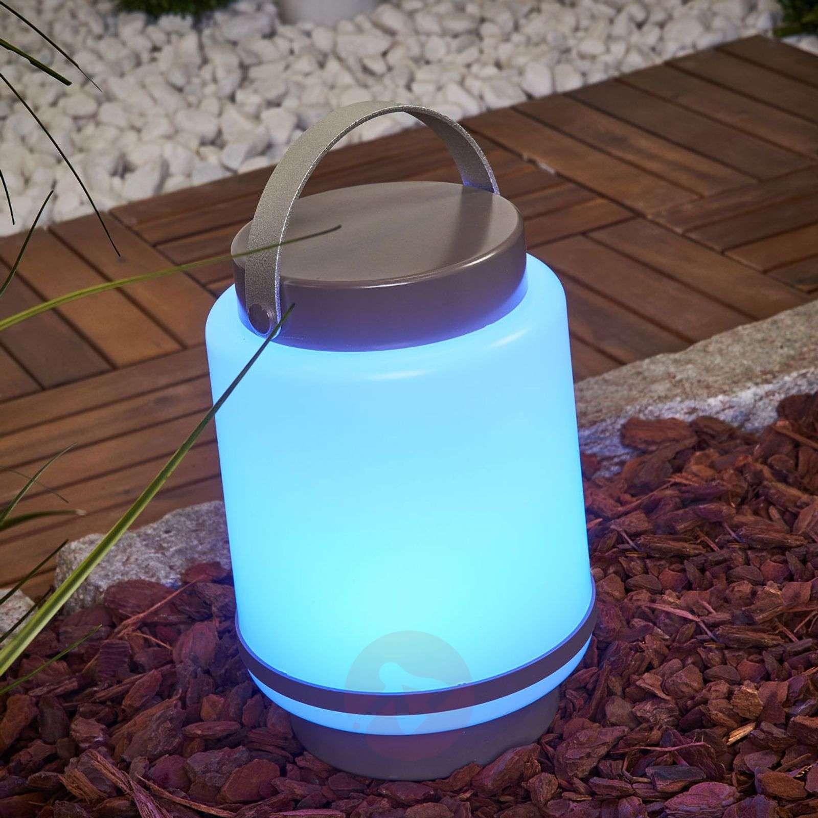 LED-koristevalaisin Doji iDual, akku, kaukosäätö-9038062-01