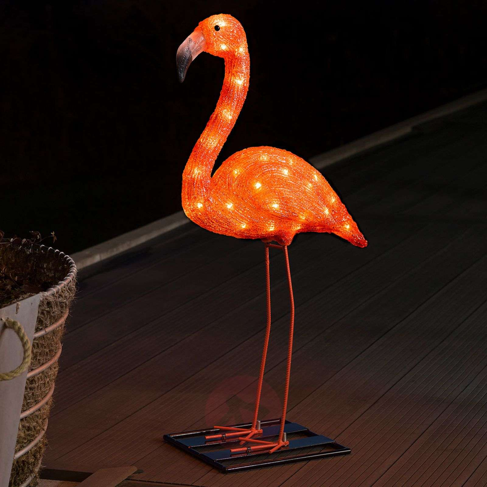 LED-koristevalaisin Flamingo 65cm-5524874-01
