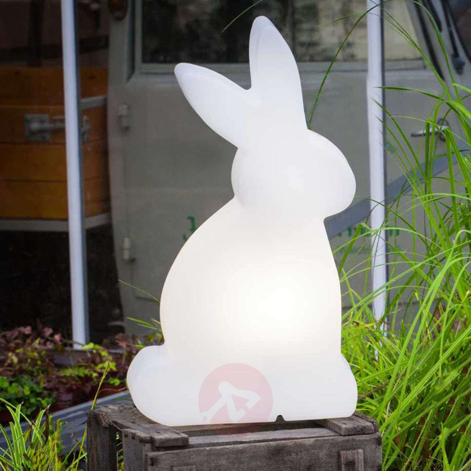 LED-koristevalaisin Shining Rabbit, 50 cm-1004079-02