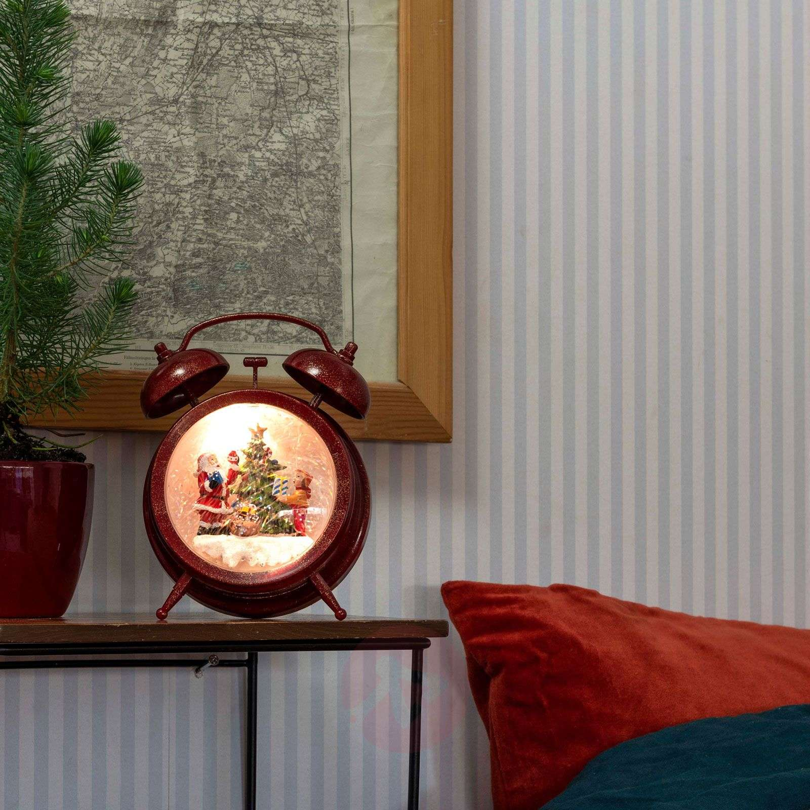 LED-koristevalo Herätyskello, ajastin ja musiikki-5524945-01