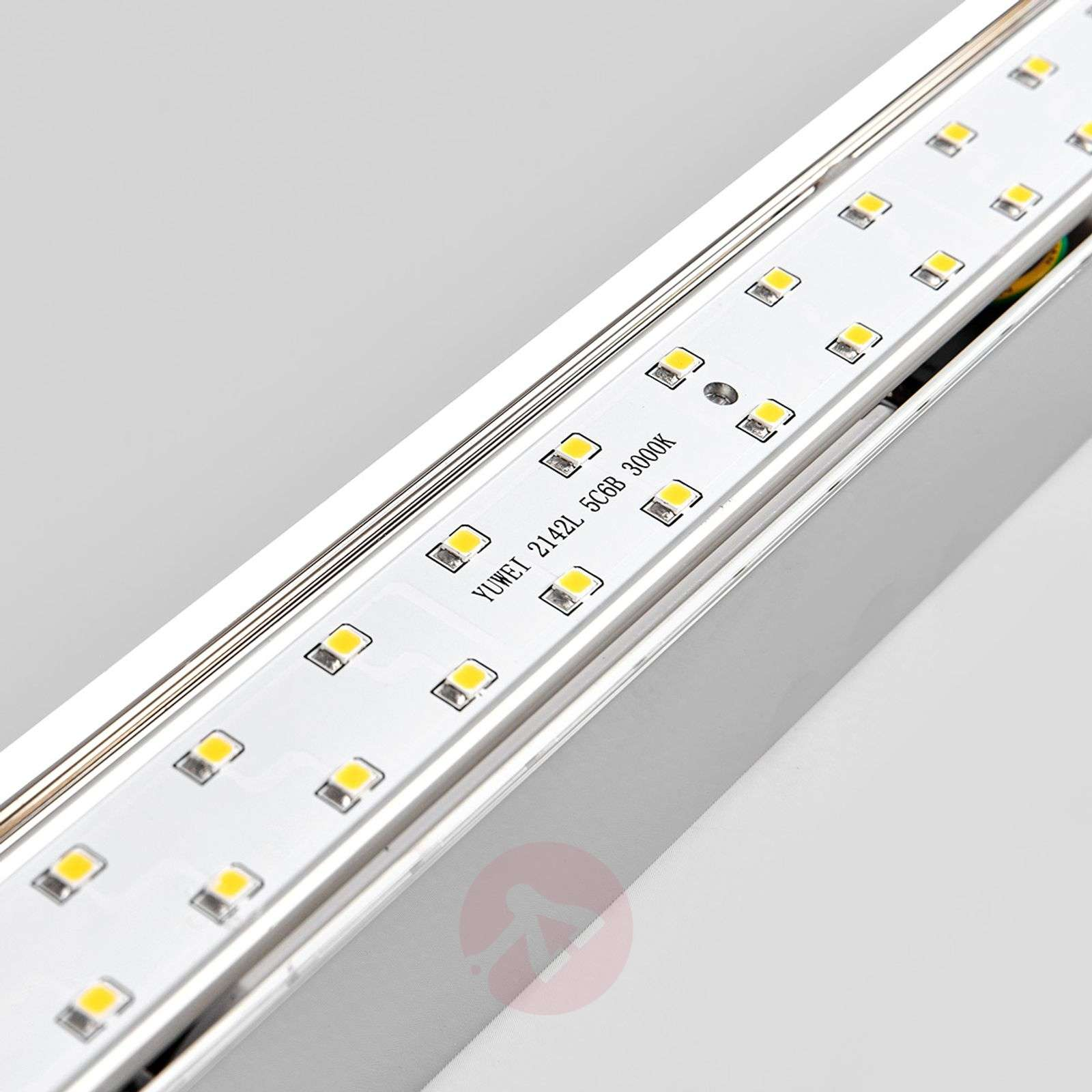 LED-kylpyhuone ja peilivalo Philippa kulmikas 32cm-9641014-02