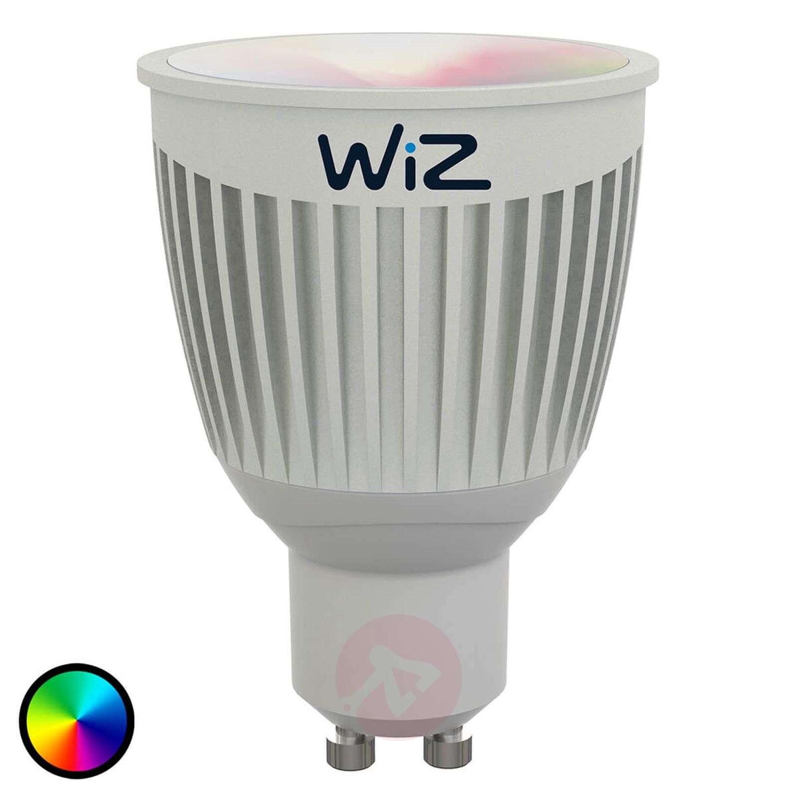 LED-lamppu GU10 WiZ, ei kaukosäädintä, RGB + valk.-9038074-01