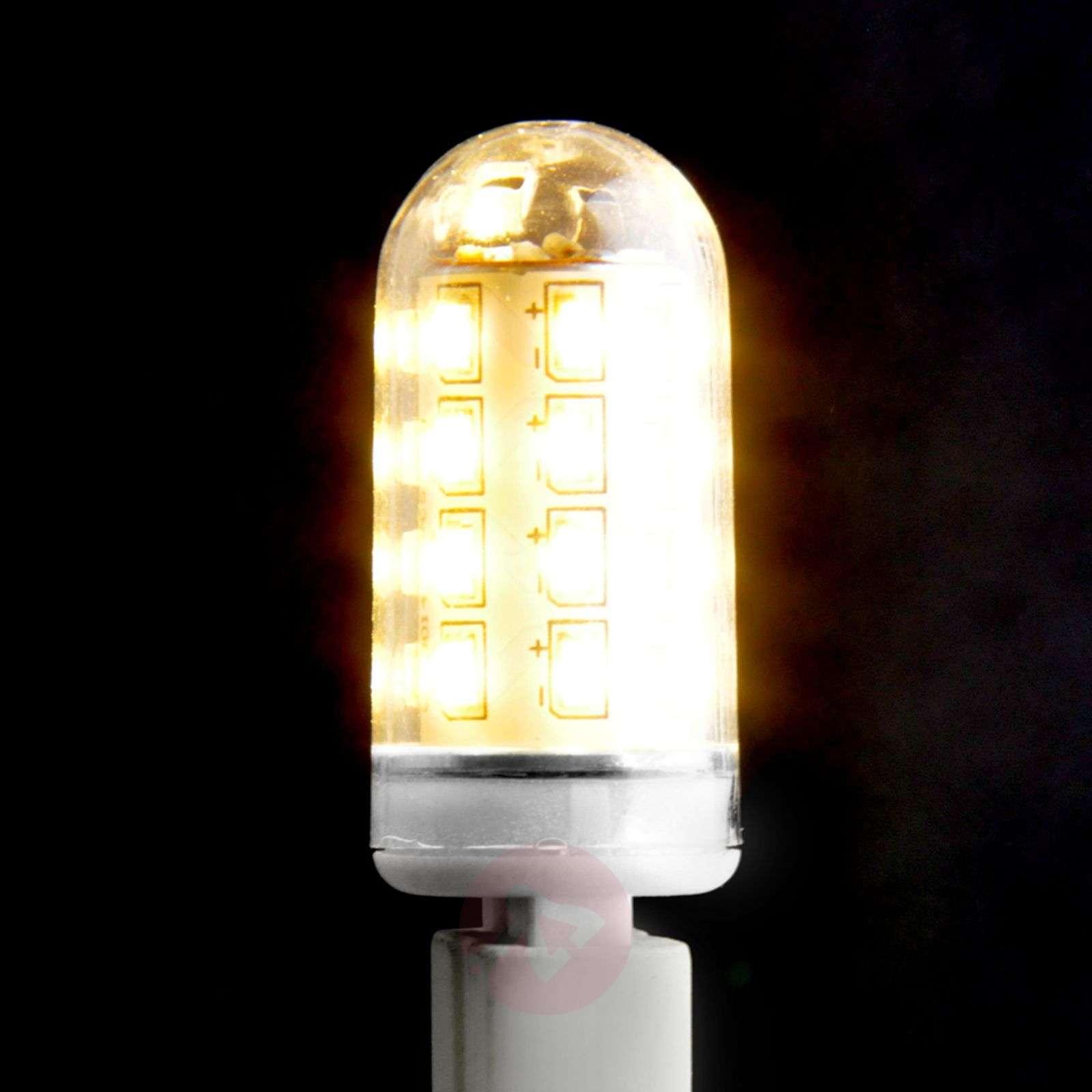 LED-lamppu kirkas G9 3W 830, putkimalli, kirkas-9620006-06