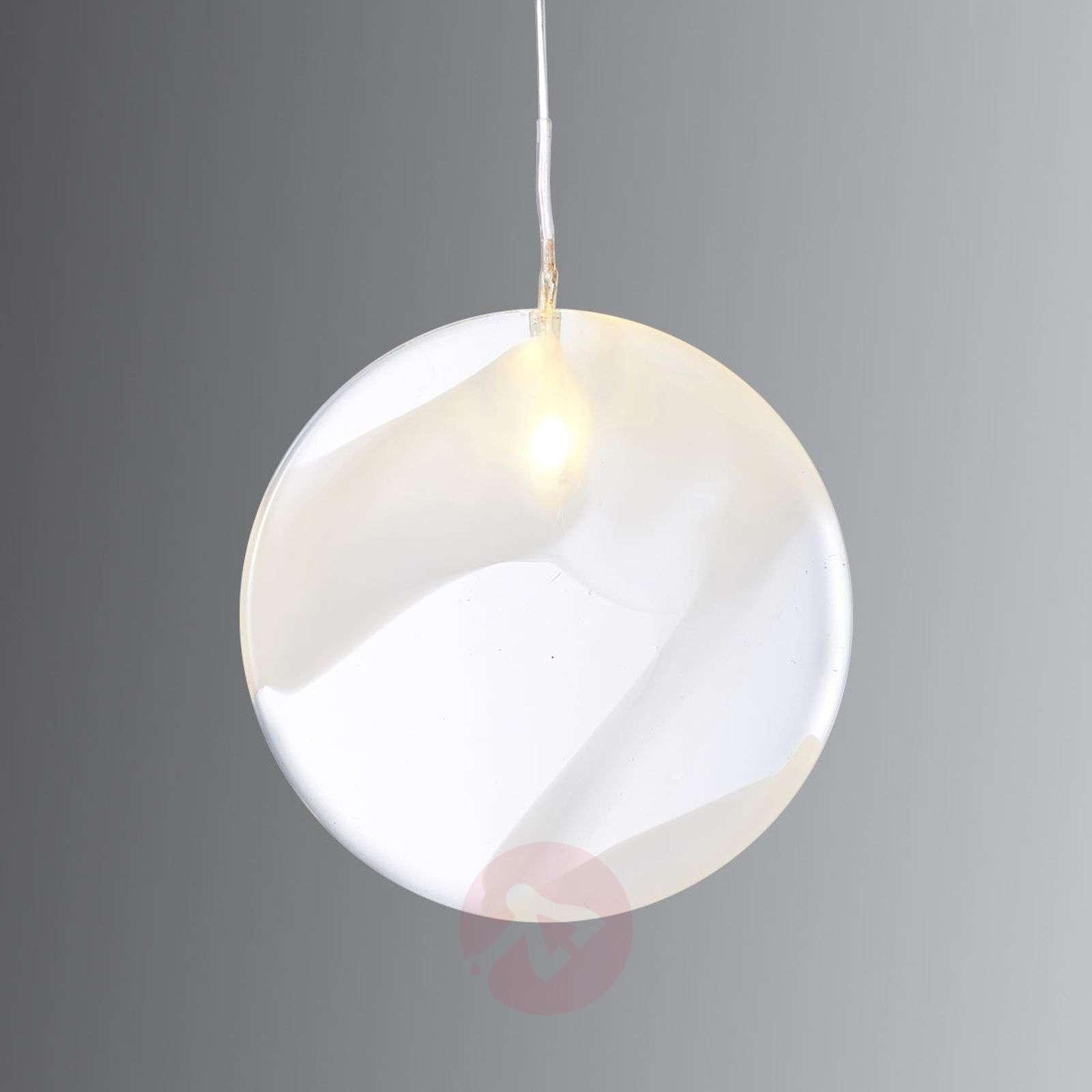 LED-lasiriipus Agnes Round-8577246-01