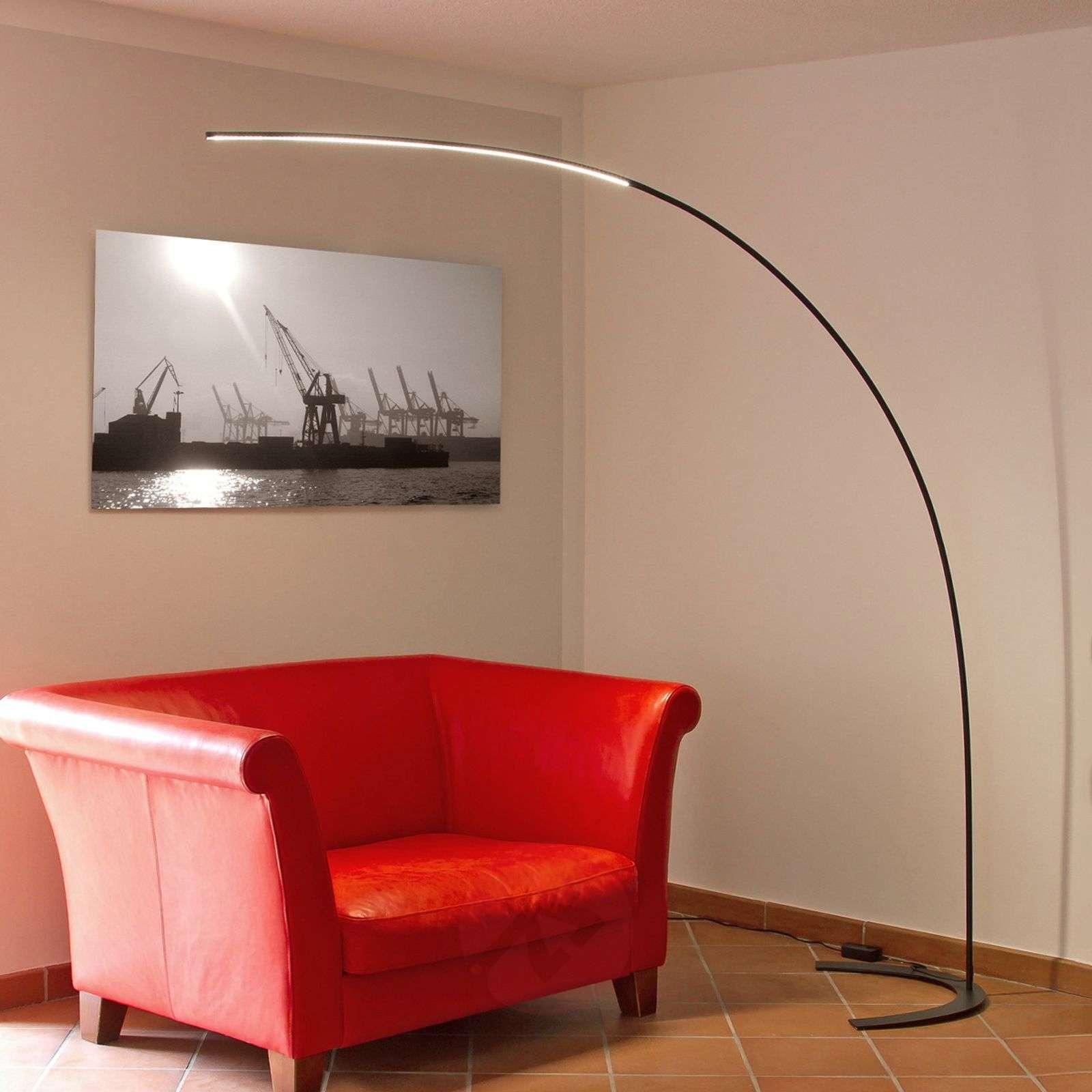 LED-lattiakaarivalaisin Danua, musta-9620140-01