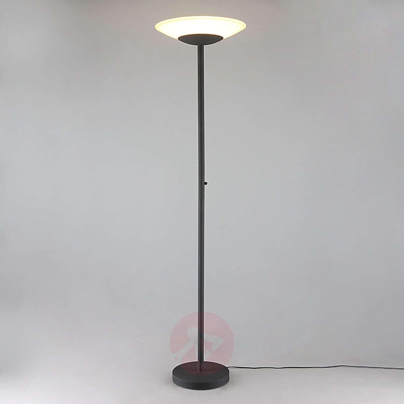LED-lattiavalaisin Ragna, himmennin, ruostevärit-9620648-04