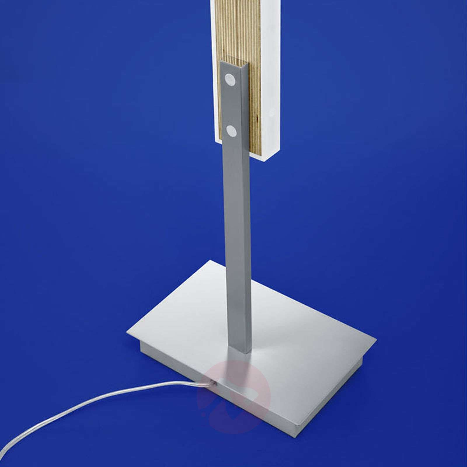 LED-lattiavalo Kiruna Wood liikehimmentimellä-1554074-01