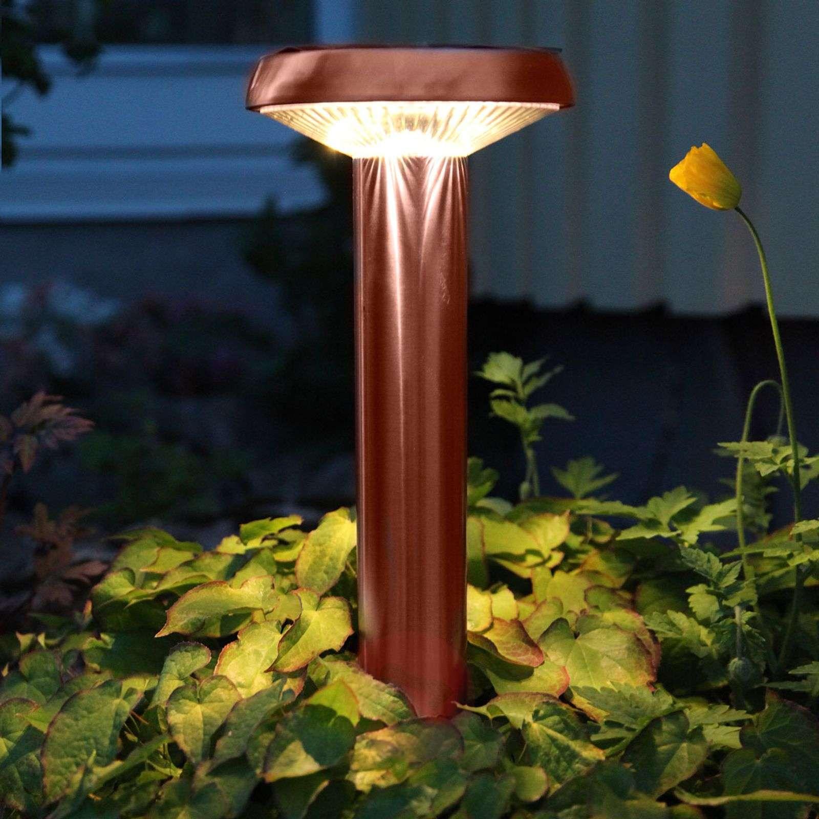 LED-maapiikkivalaisin Isis, kupari, aurinkokäytt.-1522976-01