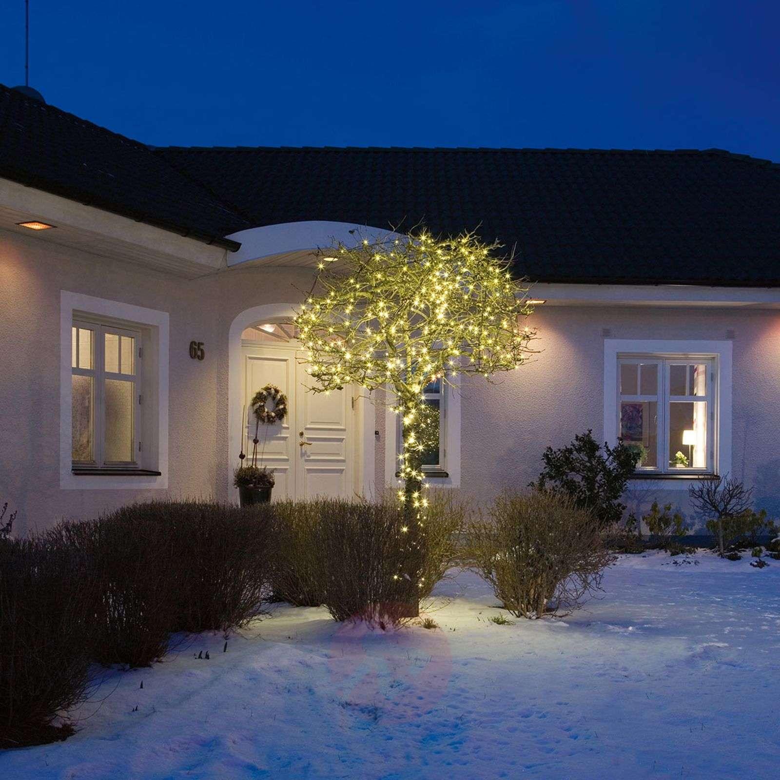 LED-mikrovaloketju lämmin valk. 80lamppua 10,5m-5524016-01