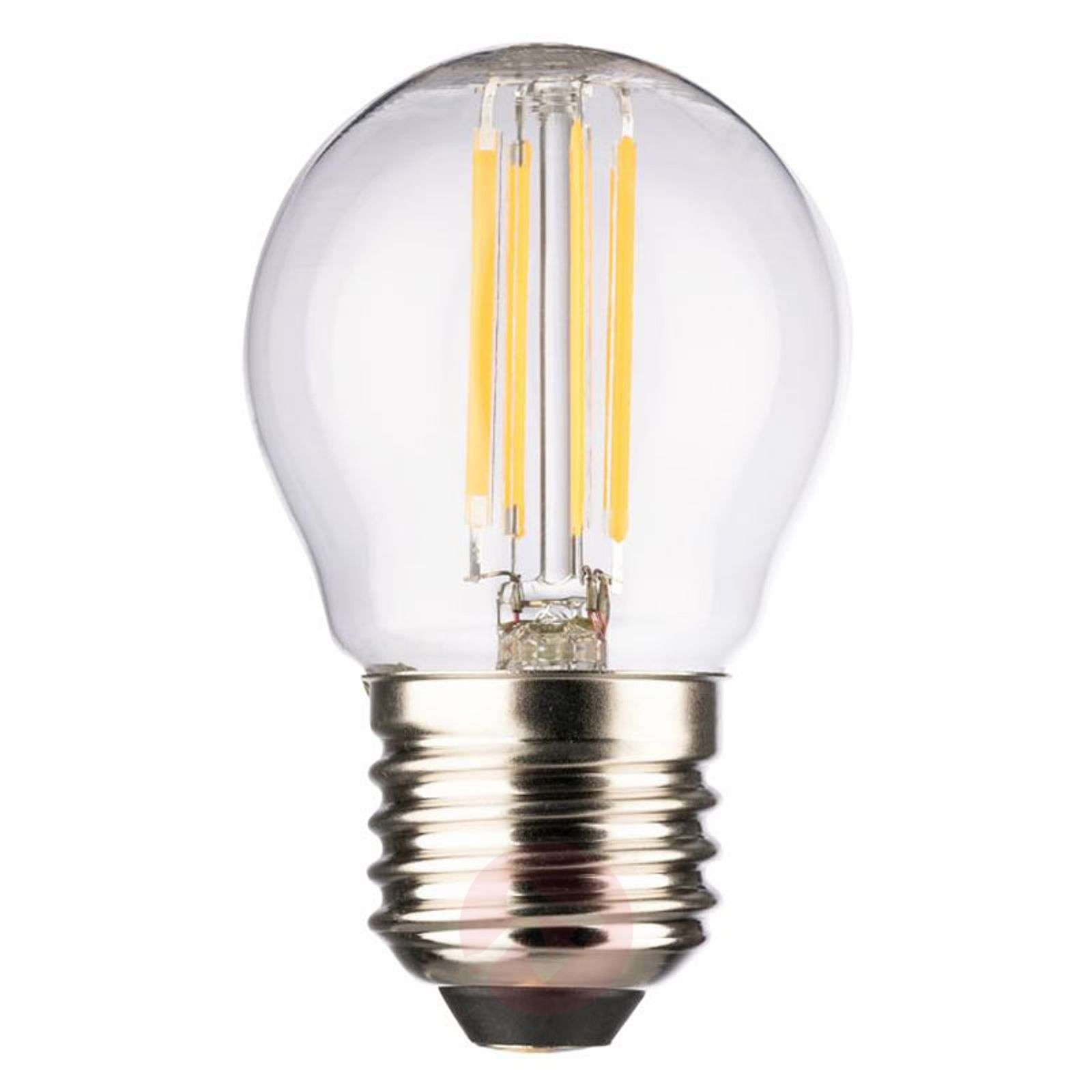 LED-Mini Globe E27 4 W lämmin valkoinen 470 lm-6520294-01