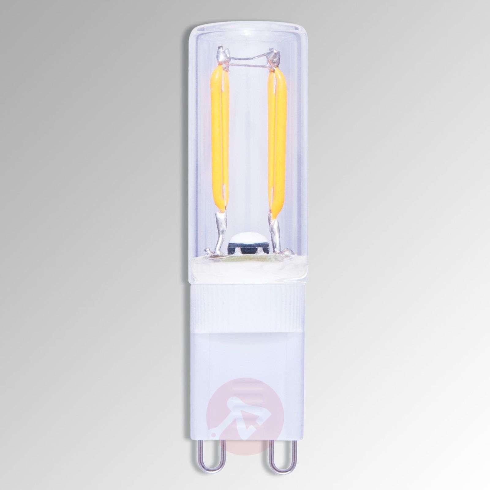 LED-nastakantalamppu G9 1,5W 822 hiililangalla-8536100-01