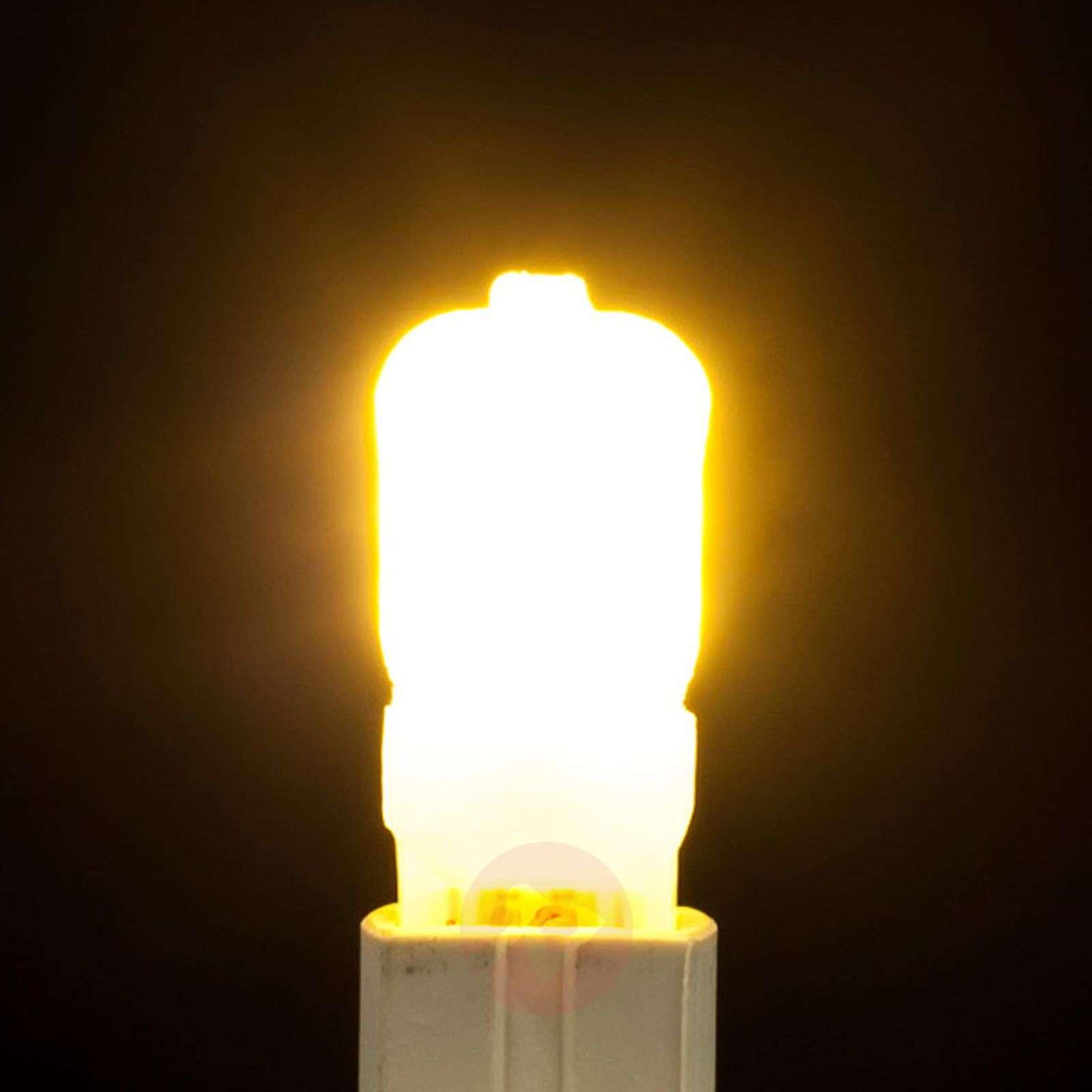 LED-nastakantalamppu G9 2,5W 830 opaali-9646005-02