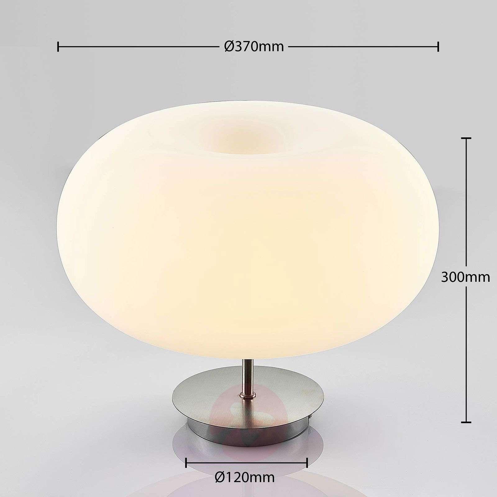 LED-opaalilasi-kattovalaisin Aglaja, valkoinen-9624352-03