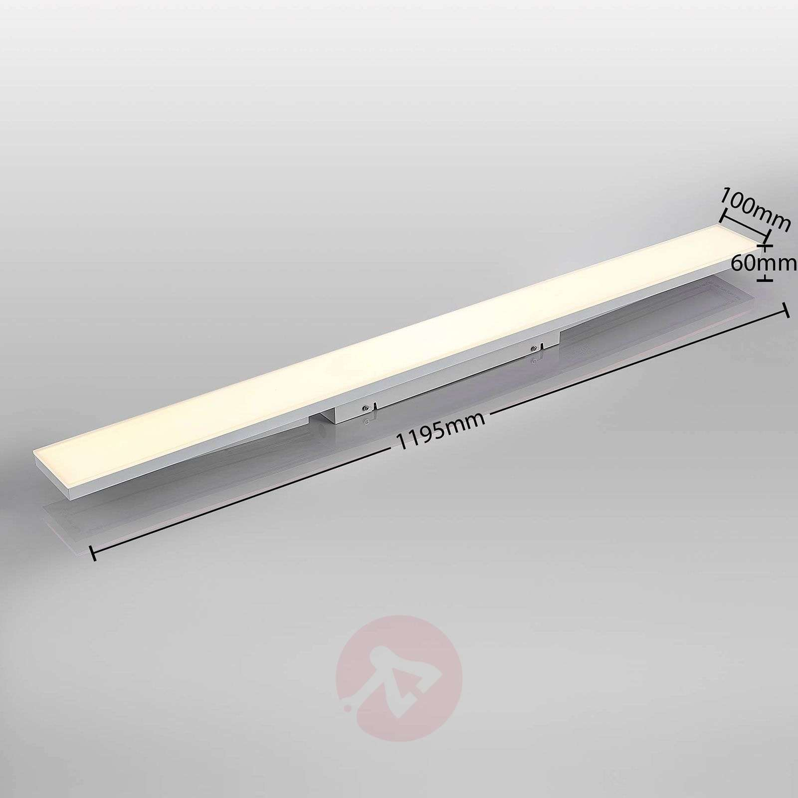 LED-paneeli Blaan CCT, kaukosäädin 119,5x10cm-9624329-01
