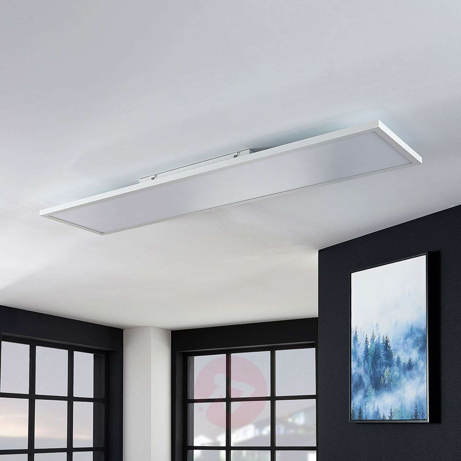 LED-paneeli Brenda CCT, kaukosäädin 29,5x119,5 cm-9624207-02