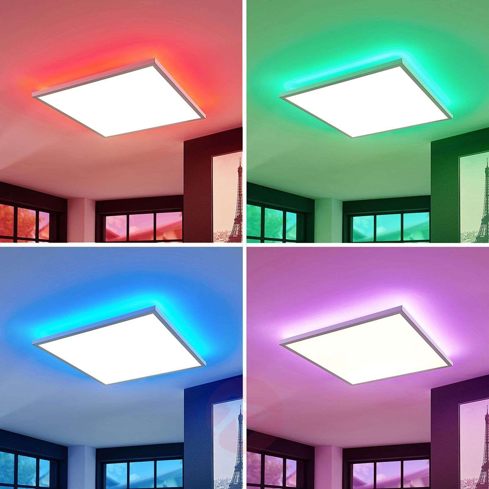LED-paneeli Brenda CCT, kaukosäädin, 60 x 60cm-9624206-02