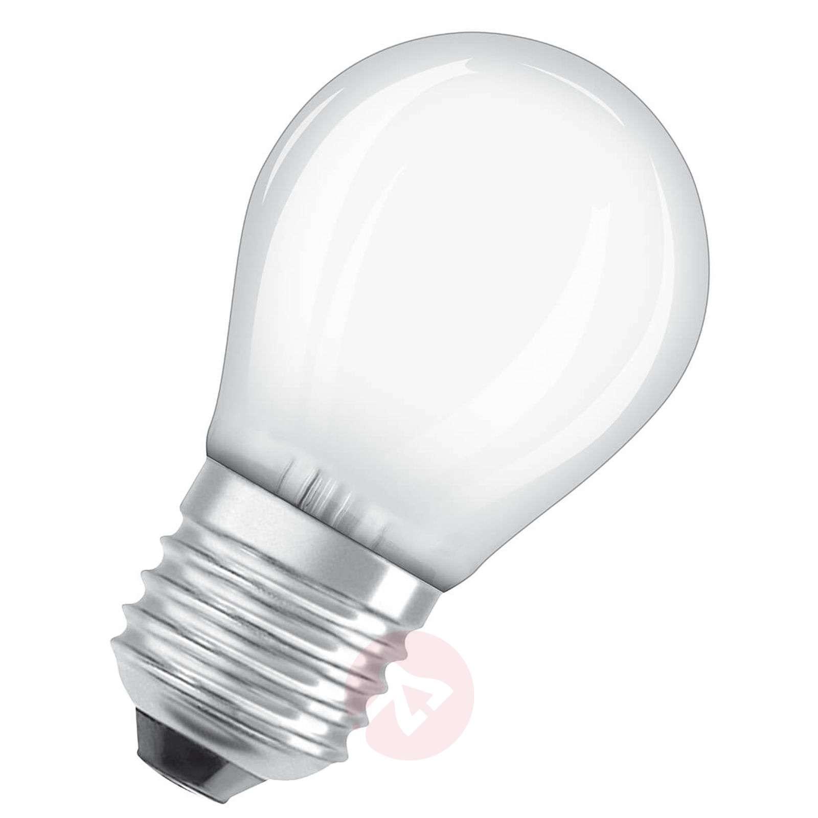 LED-pisaralamppu E27 4,5 W, lämmin valkoinen-7262029-01