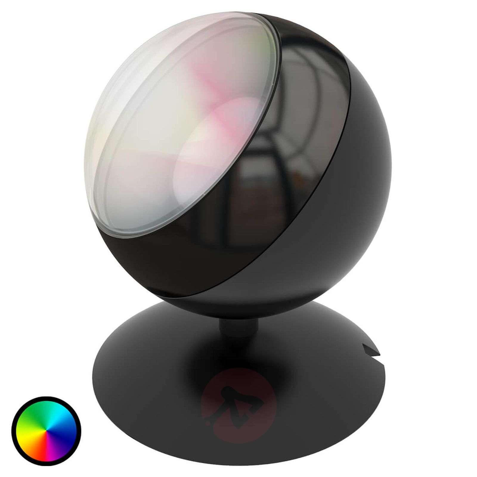 LED-pöytälamppu Quest WiZ mustana-9038092-01