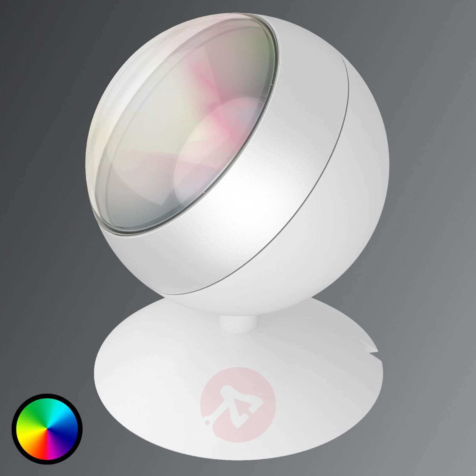 LED-pöytälamppu Quest WiZ-teknologialla, valkoinen-9038091-01