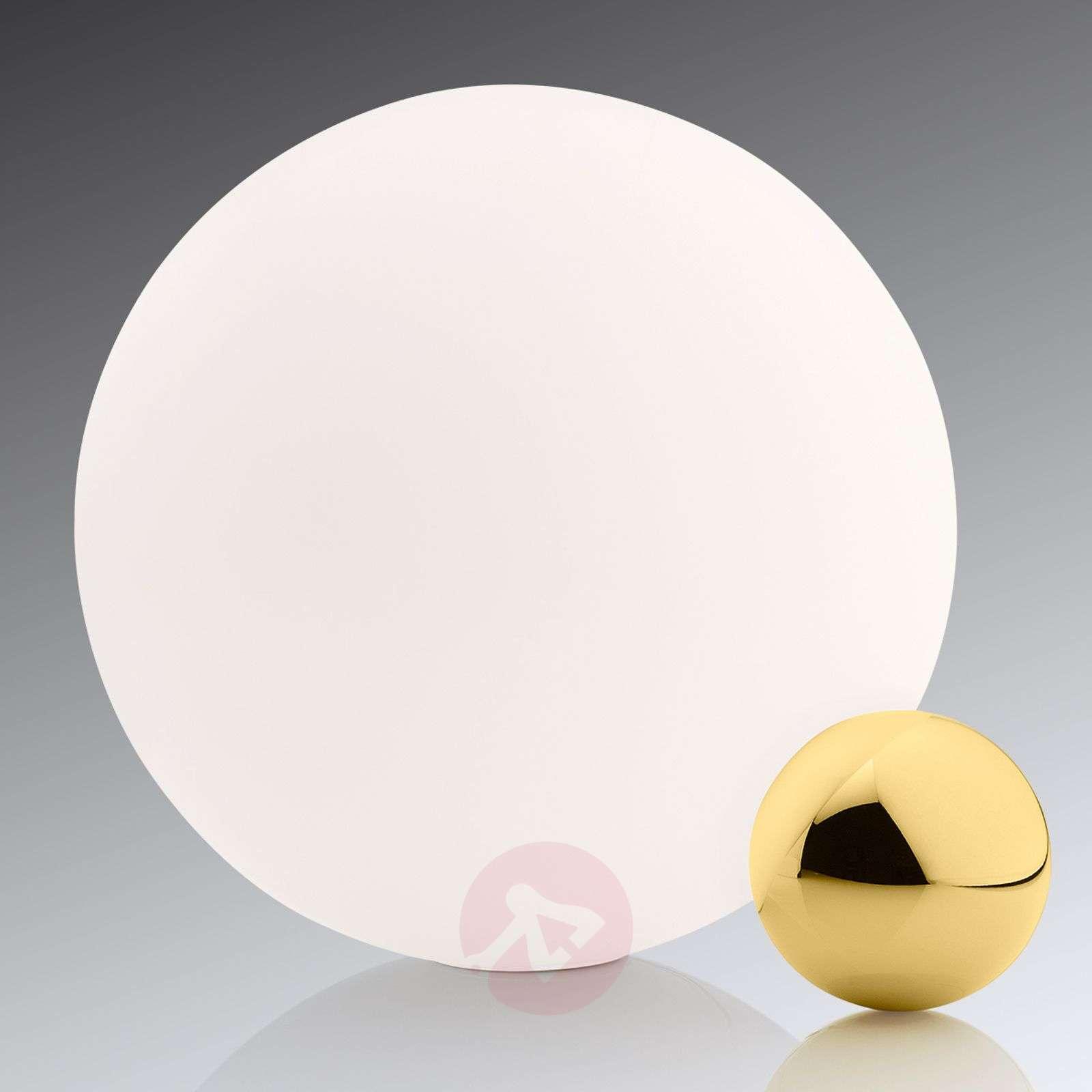 LED-pöytävalaisin Copycat, valko-kulta-3510333-01