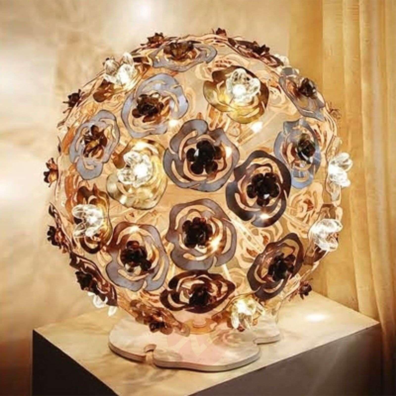 LED-pöytävalaisin Vie en Rose-6532061-01