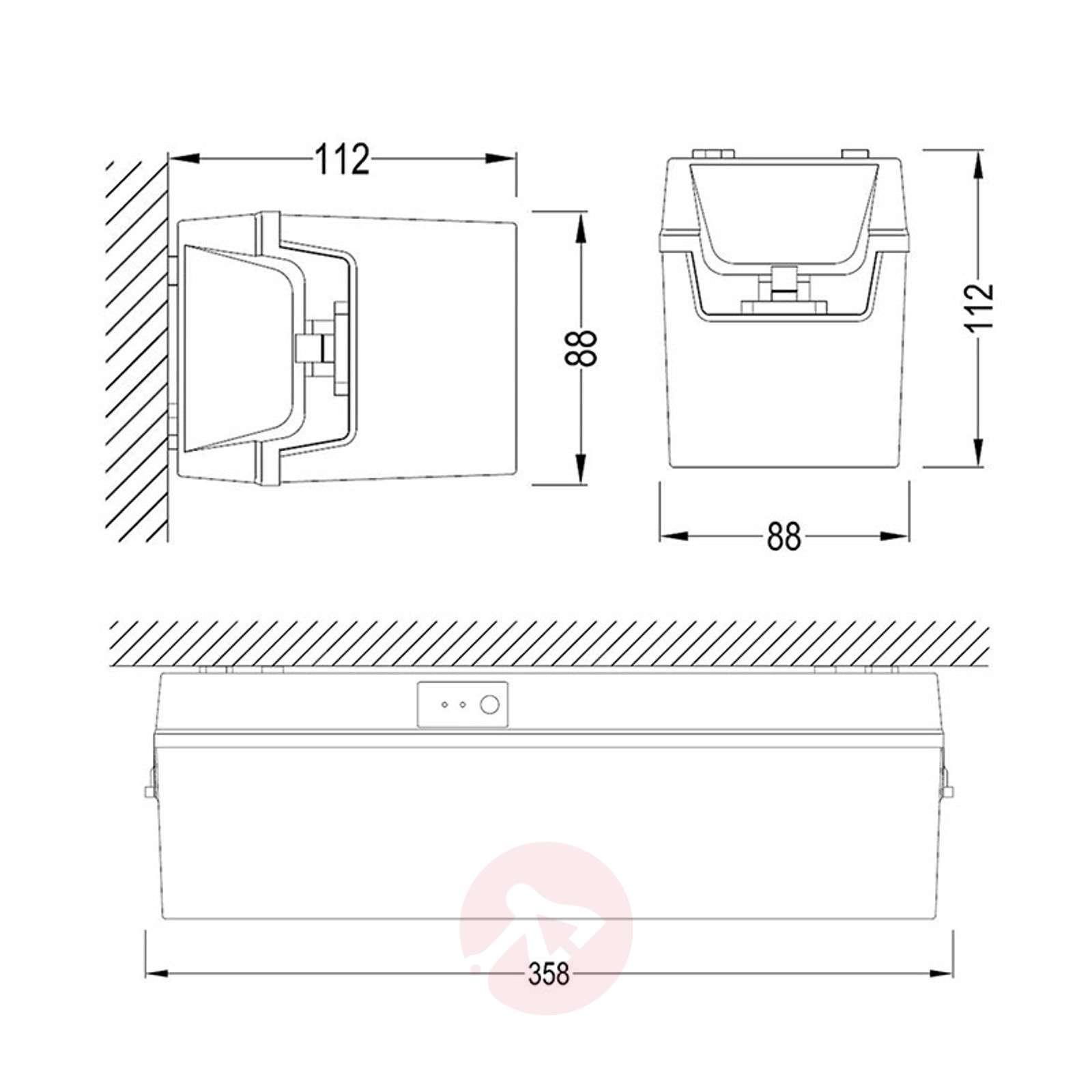 LED-poistumistievalaisin C-Lux Standard, 3 tuntia-1528006-01