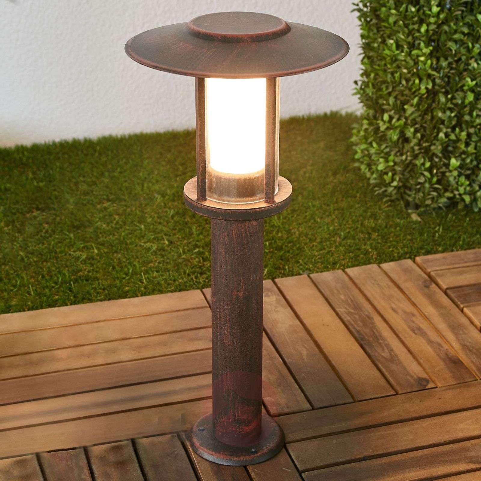 LED-pollarilamppu Pavlos, ruoste-9945243-02