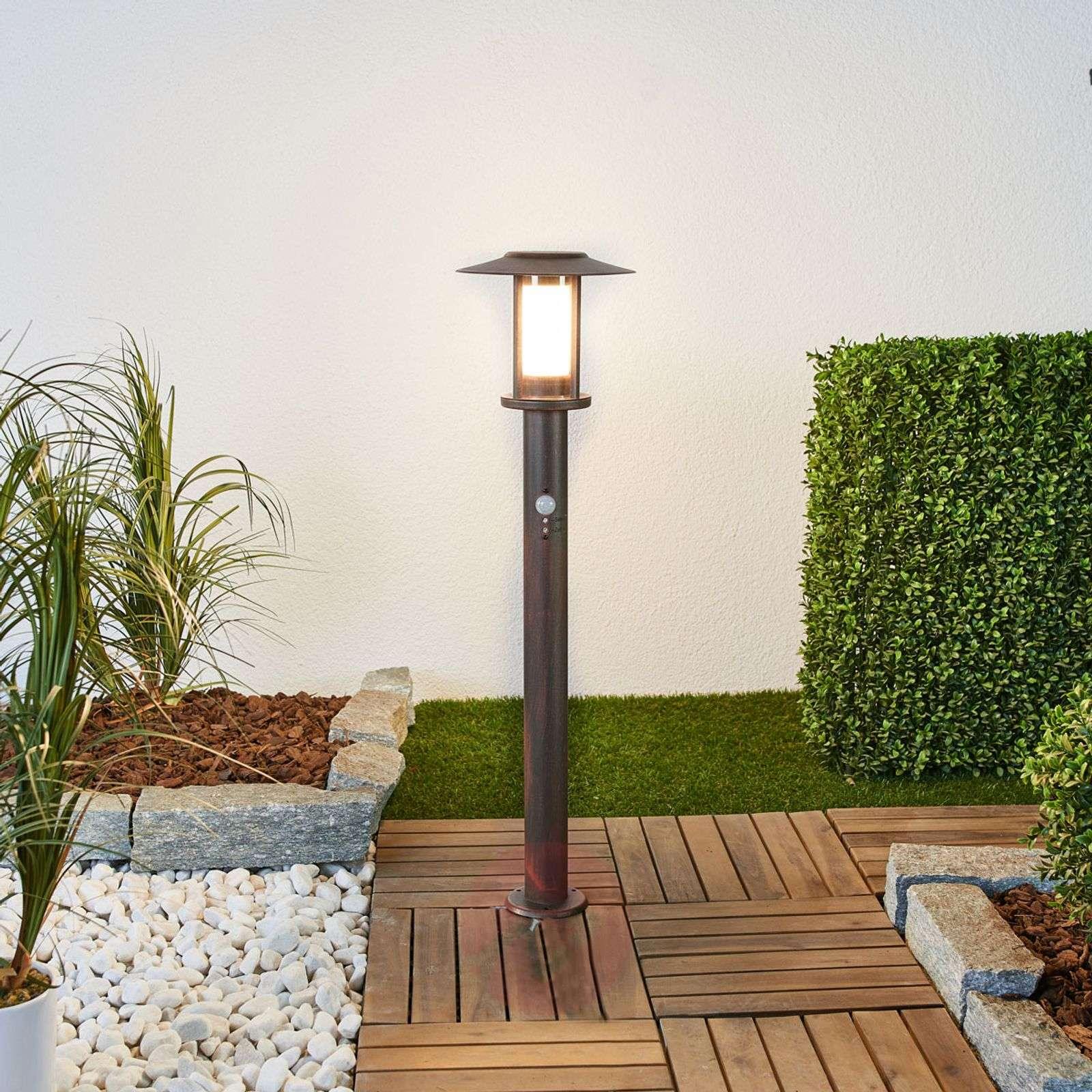 LED-pollarilamppu Pavlos tunnistimella-9945247-01