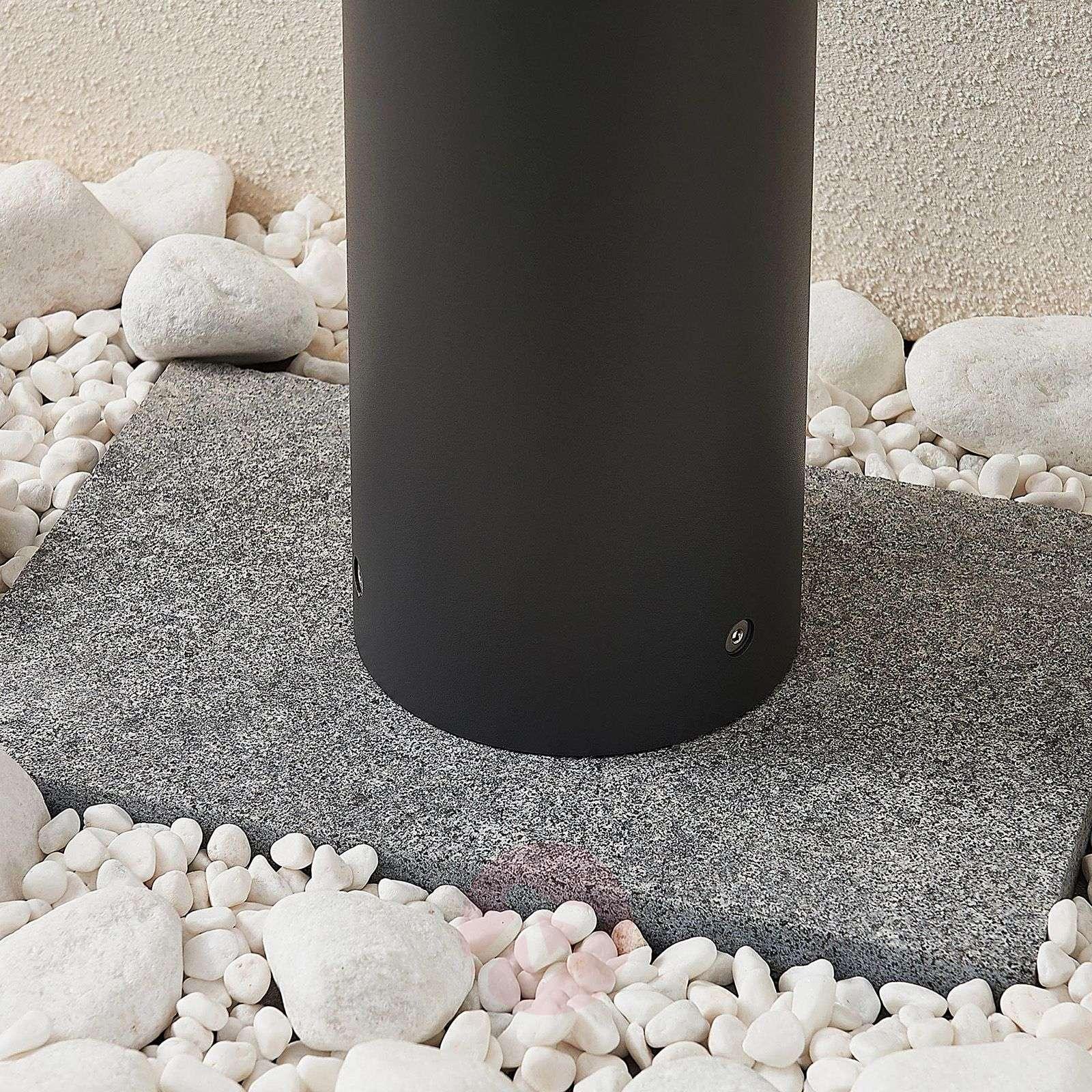 LED-pollarivalaisin Darja harmaa alumiini 80 cm-9969119-02
