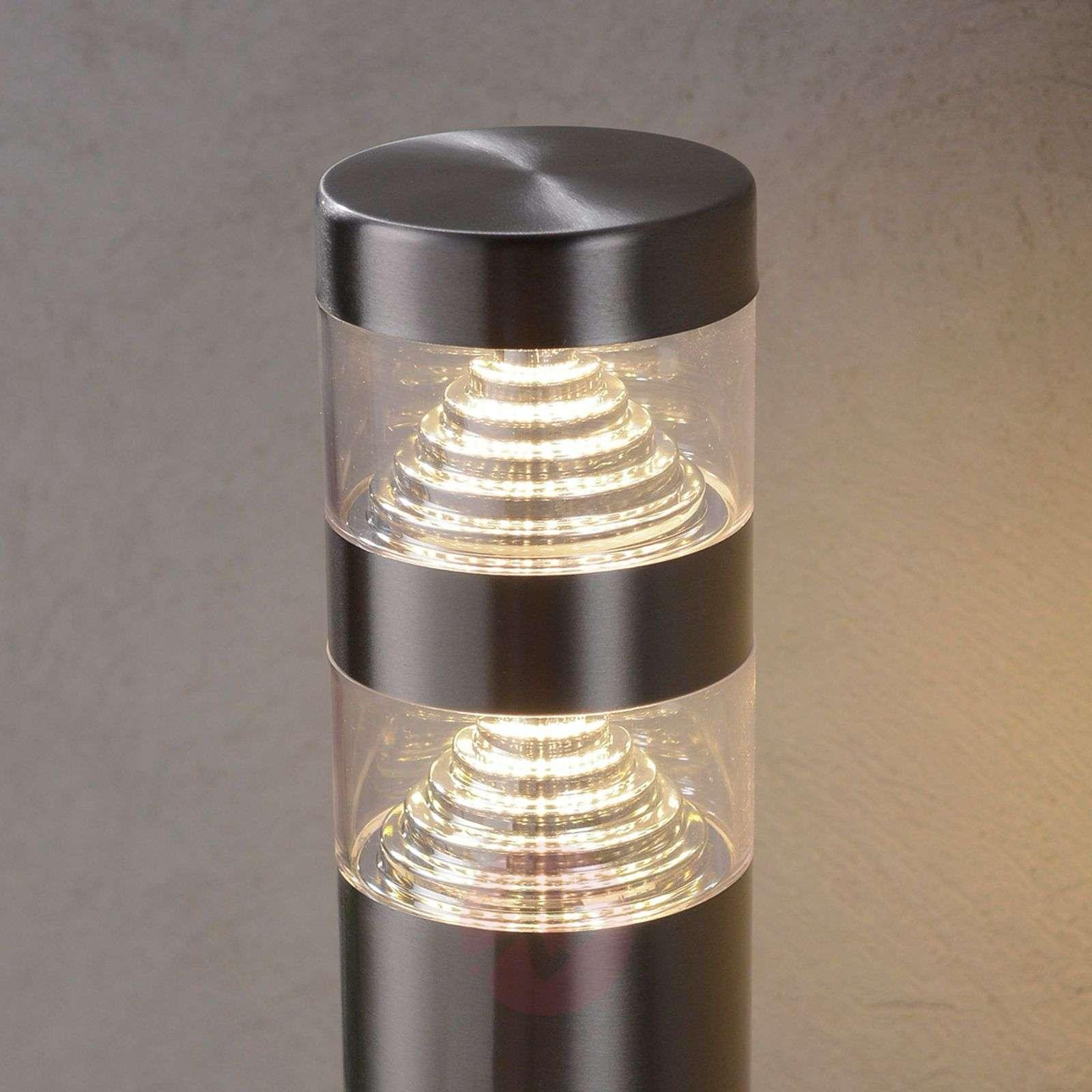 LED-pollarivalaisin Lanea ruostum. terästä, 40 cm-9988007-01