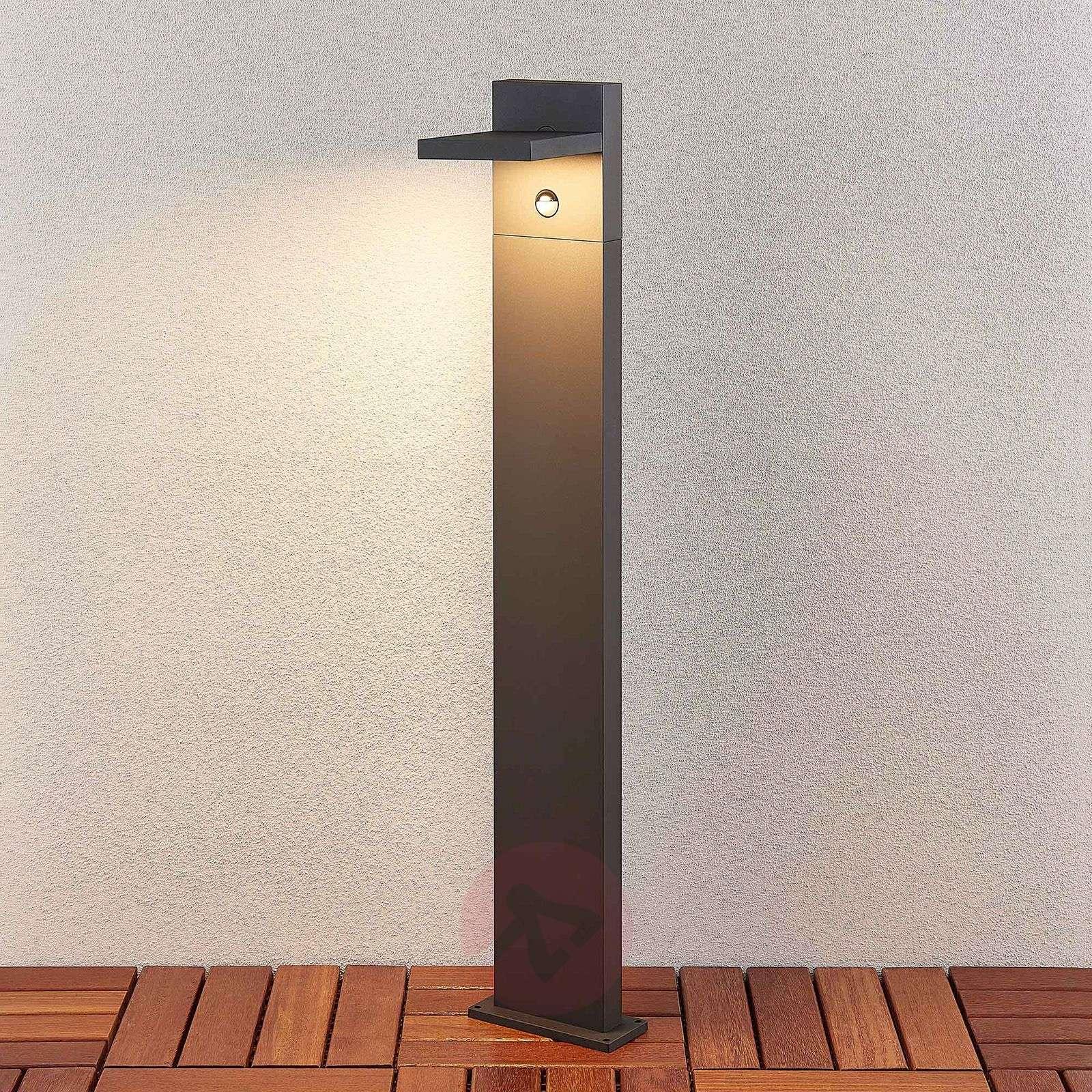 LED-pollarivalaisin Silvan, 100 cm, liikkeentunn.-9619178-01