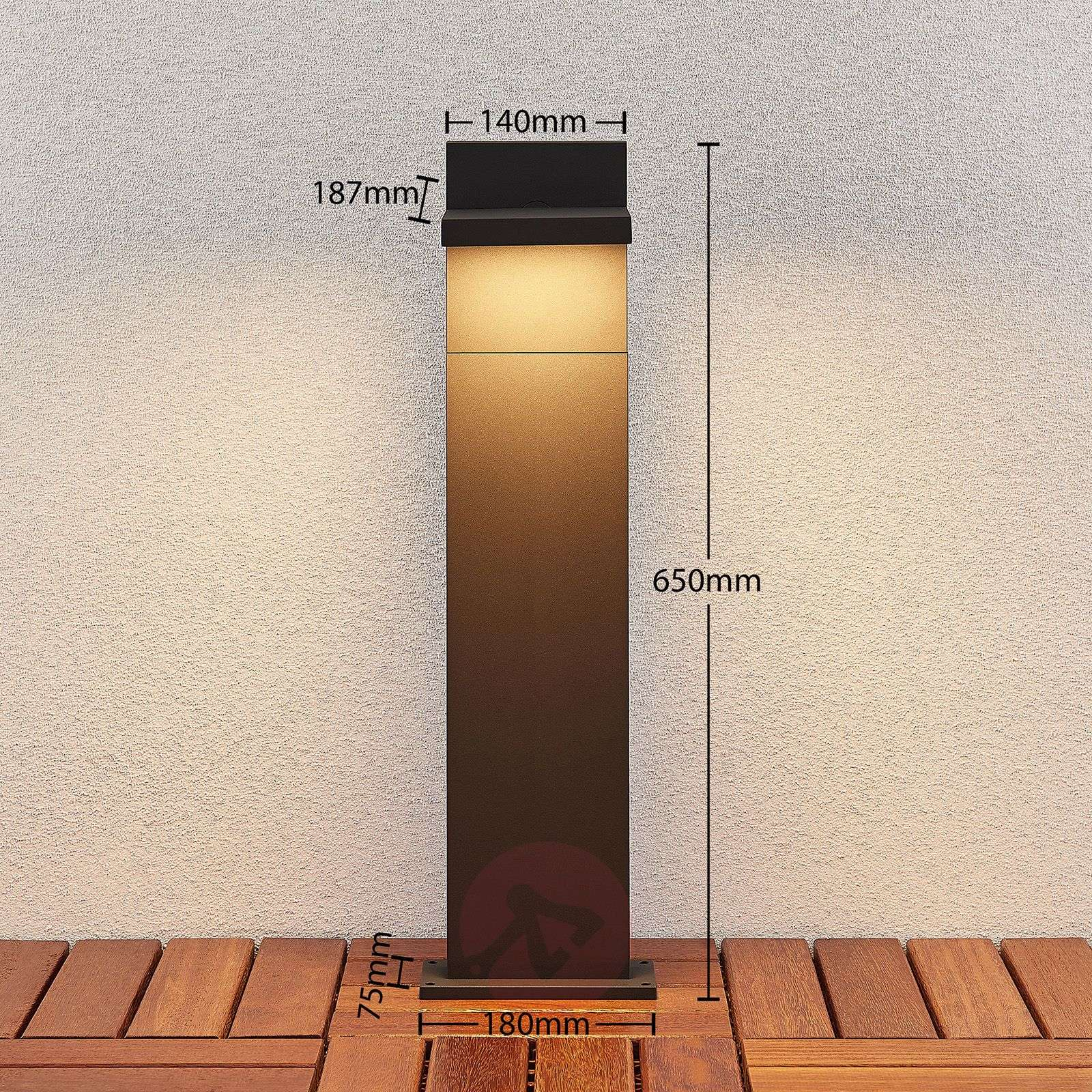 LED-pollarivalaisin Silvan, 65 cm-9619175-02