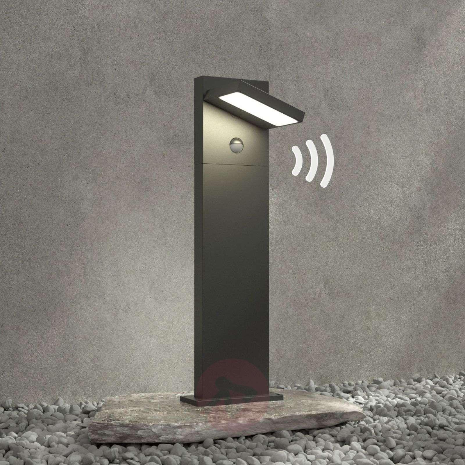 LED-pollarivalaisin Silvan, 65 cm, liikkeentunn.-9619177-02