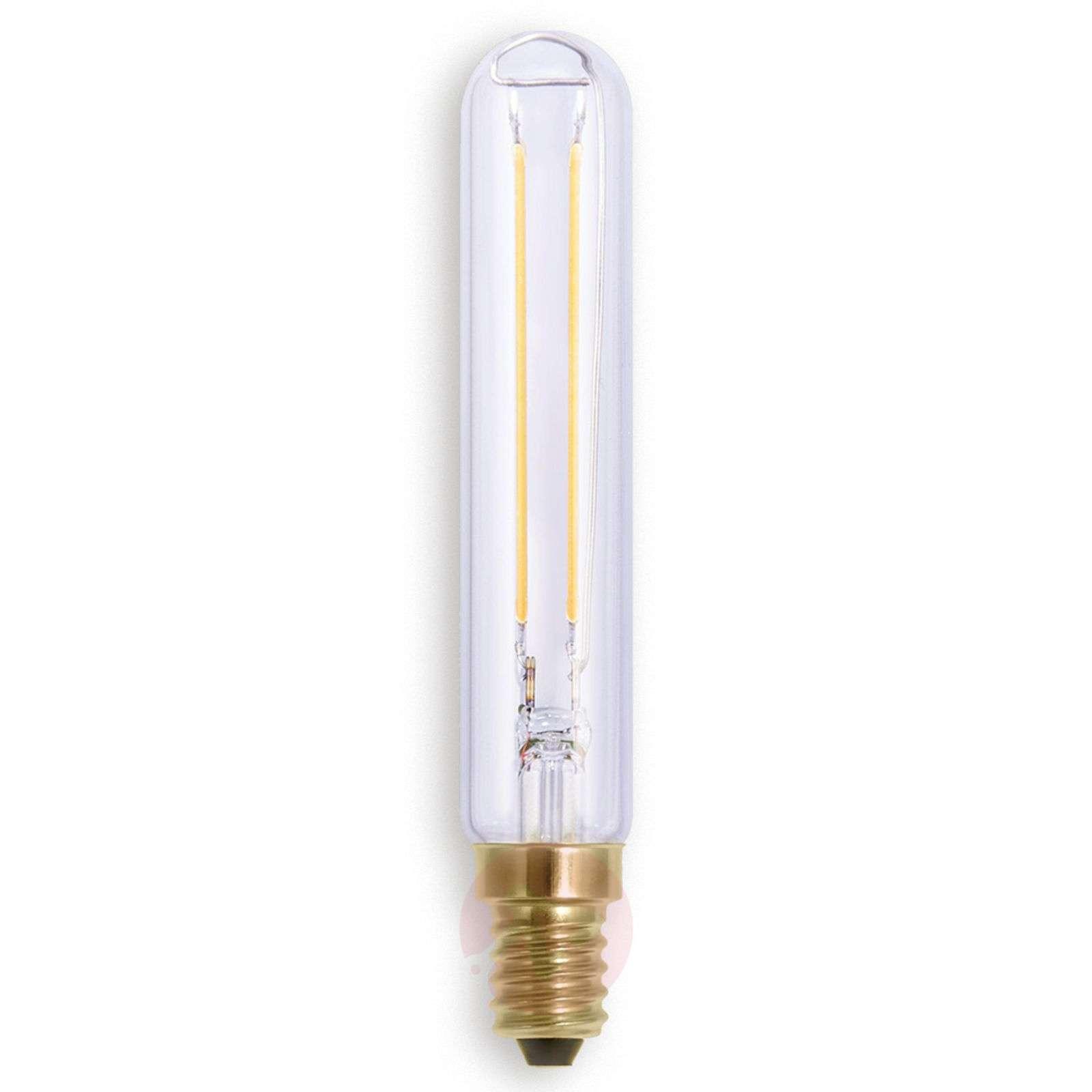 LED-putkilolamppu E14 2,7W 922 hiililangalla